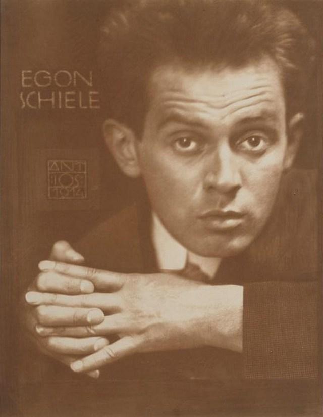 Anton Josef Trcka. Egon Schiele 1914 . Via invaluable