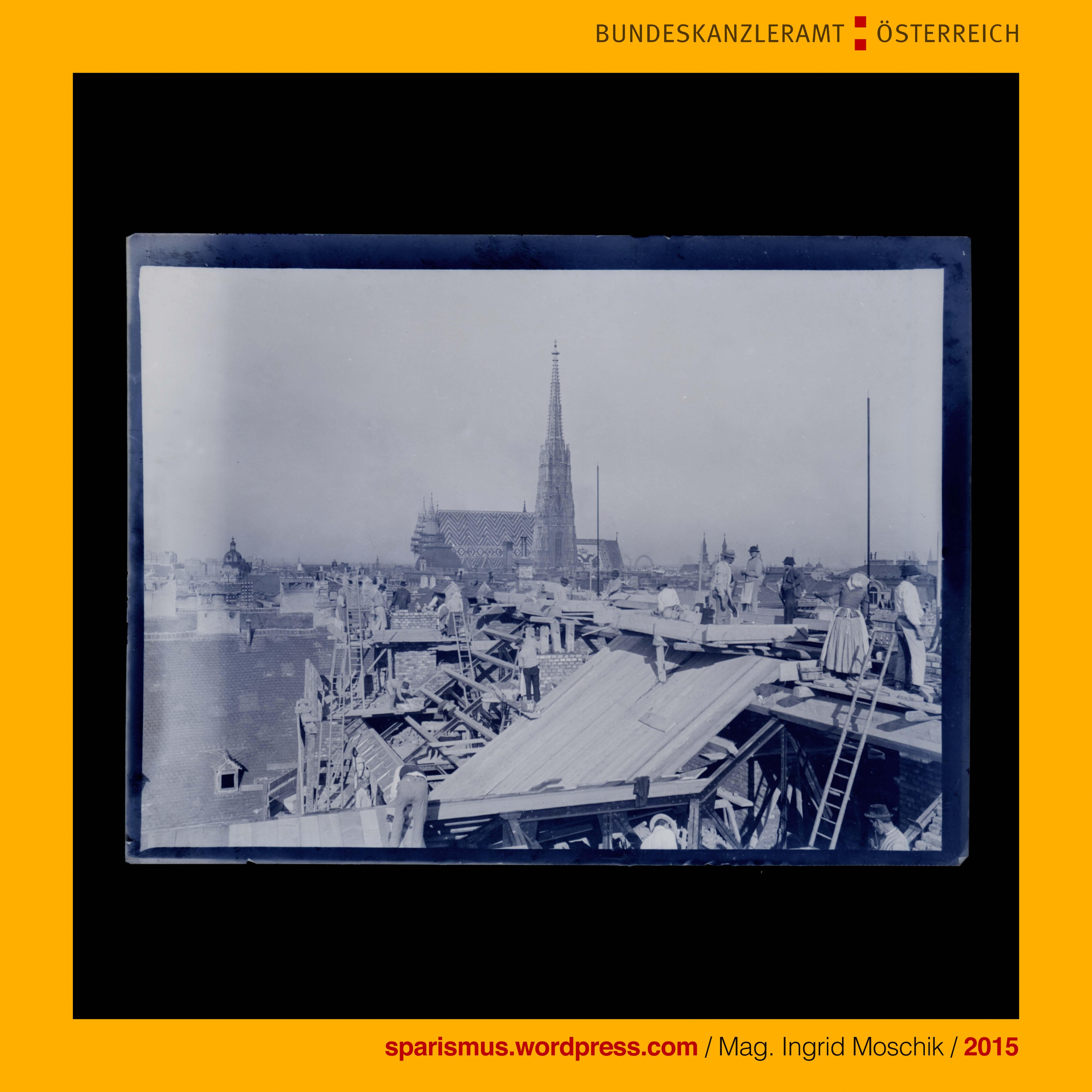 Ing. Hanns Koch, #Vienna, #Wien1900, #DOROTHEUM, Nordtrakt, Arbeiten ...