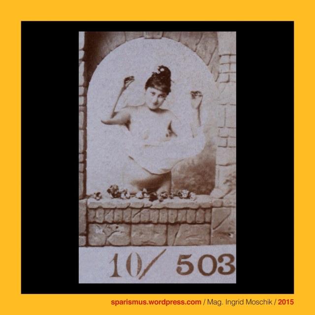 Otto Schmidt (1849 Gotha - 1920 Wien), Otto Schmidt Kunstverlag, Otto Schmidt Fotoverlag, Otto Schmidt Erotikverlag, Otto Schmidt Wien, Otto Schmidt Photograph, Etudes – modeles academiques pour artistes et industriels aristiques, On peut obtenir chaque numero en format-cabinet, Wien 1880er, Vienna 1880s, Etudes 49 Cocottes Parisiennes peintres, Vienna nudes, Vienna nude studies, Modeles Viennoises, Modeles Parisiennes, Cocottes Viennoises, Cocottes Parisiennes, Studiofelsen, Etagere Sektkübel, champagne bucket, Sektflasche, champagne bottle, Drehspiegel, cheval mirror, Studiopalmen, Studioefeu, studio ivy, Studiopodest, studio pedestal, Grabennymphe, Strassennymphe, Biedermeier-Schute, white lingerie, black pumps, Ringelstrümpfe, Überknie-Ringelstrümpfe, rined overknees, Sonnenschirm, sunshade, sun umbrella, parasol, The Austrian Federal Chancellery, Bundeskanzleramt Österreich, BKA, Ballhausplatz 2, JustizSchutzGesetz, BeamtenSchutzGesetz, BehördenSchutzGesetz, KorruptionsSchutzGesetz, KritikVerbotsGesetz, DenkVerbotsGesetz, Mag. Ingrid Moschik, Mündelkünstlerin, Staatsmündelkünstlerin