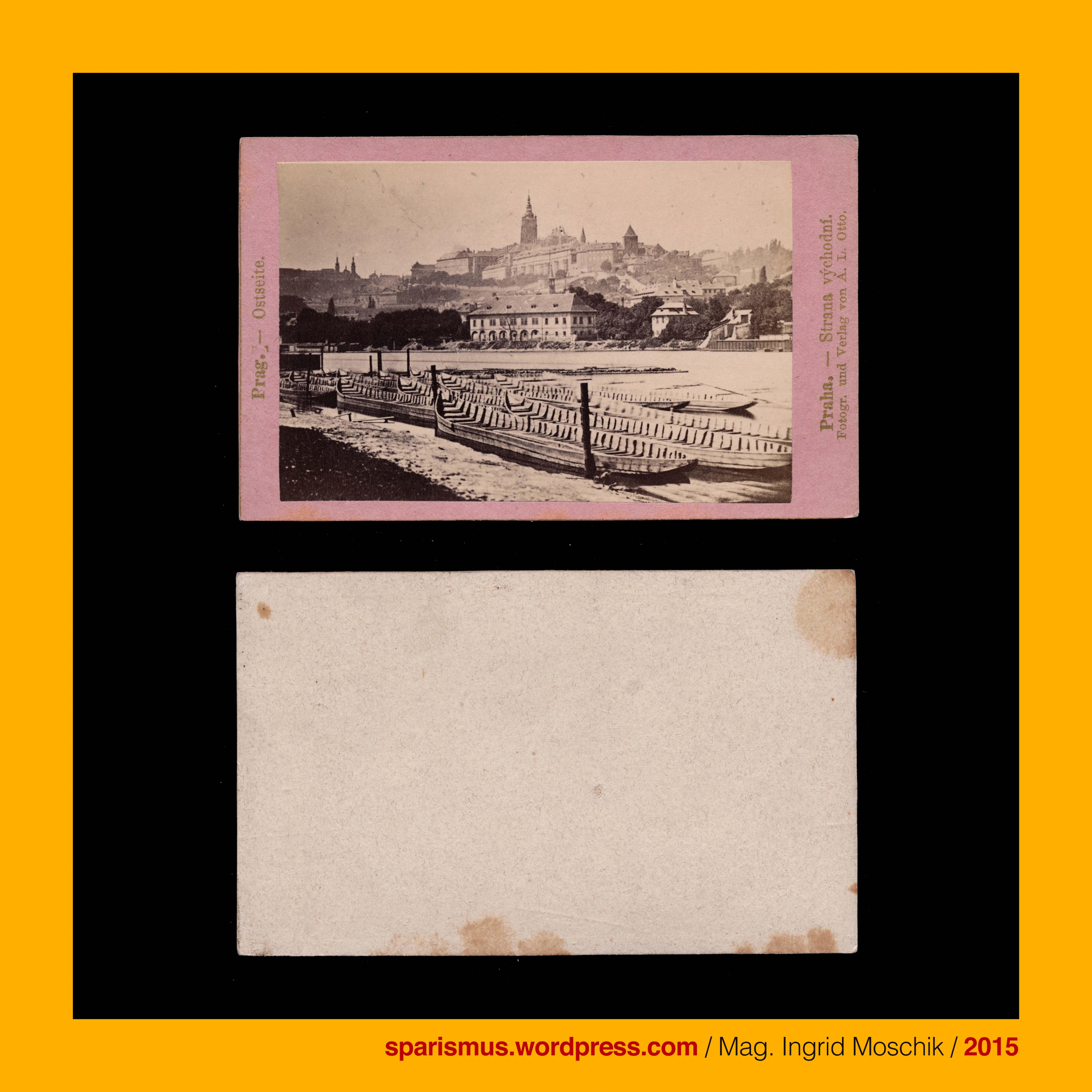 """August Ludwig Otto – graph und Verlag in Prag in den 1860ern August Ludvik Otto """""""