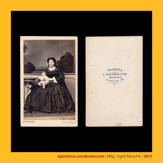 """L. Bachrich, Leopold Bachrich (um 1828 – 1908 Wien) - Wiener Photograph von 1858 bis 1908, Bachrich = Bachrach = Bacharach am Rhein, Celtic Baccaracus = Landgut des Baccarus, Baccus = Bacchus = Bacchos = Weinbeeren-Gott, bacca = baca = bab-ca = Beere berry bead pearl = Weinbeere Olivenbeere = Backe, Wien II. - Leopoldstadt (1850 bis heute) , Wien II. - Leopoldstadt 240 - Sperl Garten , Wien II. - Leopoldstadt - Sperlgasse 240 - Sperl-Saal, Wien II. - Leopoldstadt - Sperlgasse Nr. 240 - Sperl-Saal, Wien II. - Leopoldstadt - Kleine Sperlgasse 2c - """"Zum Sperl"""" (1807 – 1873), Johann Georg Sperlbauer - kaiserlicher Jäger und Wirt """"Zum Sperlbauer"""", Johann Georf Scherzer (1776-1858) – Banker und Wirt """"Zum Sperl"""", Sperl-Galopp, Sperl-Polka, Sperl-Walzer, Sperl-Gymnasium = Sigmund-Freud-Gymnasium (1877 bis heute), Kleine Sperlgasse (1862 bis heute), Grosse Sperlgasse (1862 bis heute), The Austrian Federal Chancellery, Bundeskanzleramt Österreich, BKA, Ballhausplatz 2, Sparismus, Sparen ist muss, Sparism, sparing is must Art goes politics, Zensurismus, Zensur muss sein, Censorship is must, Mag. Ingrid Moschik, Mündelkünstlerin, Staatsmündelkünstlerin"""