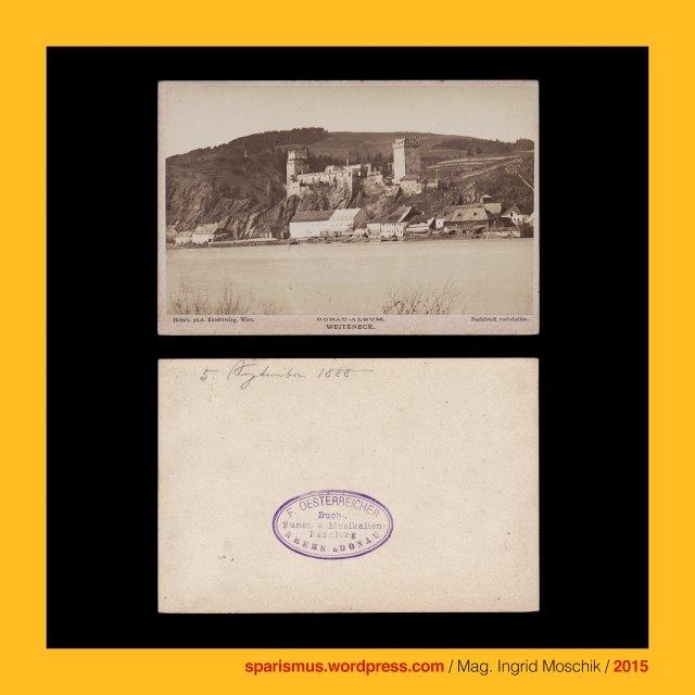 A. Helm, Amand Helm – Maler und Photograph – Teplitz Prag Wien, Amand Helm (1831 Teplitz / Teplice – um 1890), Weitenegg in der Wachau, Weitenegg an der Donau = Ruine Weitenegg in Leiben in Niederösterreich (12. Jahrhundert bis heute), Weitenegg = Weiteneck = Weydenek, Weitenegg = Ecke wo der Weitenbach aus dem Mühviertel in die Donau mündet, Weitenegg - Weitenbach = Weidenbach = Weydenbach = Weydnbach, Weitenegg = Weitenbach-Mündung = PIE *ueid- *uid- = water Wodka Wasser Weiden Vine Wein Vindobona Wien Wieden Widna Weidenau  Widon Widomia Vdova  Veaune Veyle Vitebsk Vidbol Widawa Weidlingbach Wda Wdzydze Widawka, Richard Ritter von Dotzauer (1816–1887) – Prager Großkaufmann, Richard Jacob rytíř von Dotzauer (1816 Kraslice – 1887 Praha) - Czech member of Czech council - local politician – entrepreneur, Richard Ritter von Dotzauer (1816–1887) - Sohn des Graslitzer Autors Johann Dotzauer, Dotzau = Totzau = Tocov = Tocava, Wien XIX. Döbling – Kahlenberg, Wiener Kahlenberg, Kahlenberg = Sauberg = Schweinsberg = Josephsberg = Leopoldsberg, Burg Kreuzen (um 900 bis heute), Bad Kreuzen - Strudengau an der Donau, Herrschaft und Marckt Creitzing – Merian 1679, Kreuzen = Kreutzen = Creutzen = Chroucen, Struden, Strudengau, Strudel, Burg Werfenstein (1234 bis heute), Persenbeug = Besenbeug = Böse Biegung des Donau Flusses, Schloss Persenbeug = Bösenberg (907 bis heute), Persenbeug-Gottsdorf (1968 bis heute), Marbach an der Donau, Markbach = Marpach = Marbach (1144 bis heute ), Nussdorf an der Donau, Nussdorf bei Wien, Wien XIX. Döbling Nussdorf (1891 bis heute), #38000, #631, #999, The Austrian Federal Chancellery, Bundeskanzleramt Österreich, BKA, Ballhausplatz 2, Sparismus, Sparen ist muss,  Sparism, sparing is must Art goes politics, Zensurismus, Zensur muss sein, Censorship is must, Mag. Ingrid Moschik, Mündelkünstlerin, ward artist, Staatsmündelkünstlerin, political ward artist, Österreichische Staatsmündelkünstlerin, Austrian political ward artist
