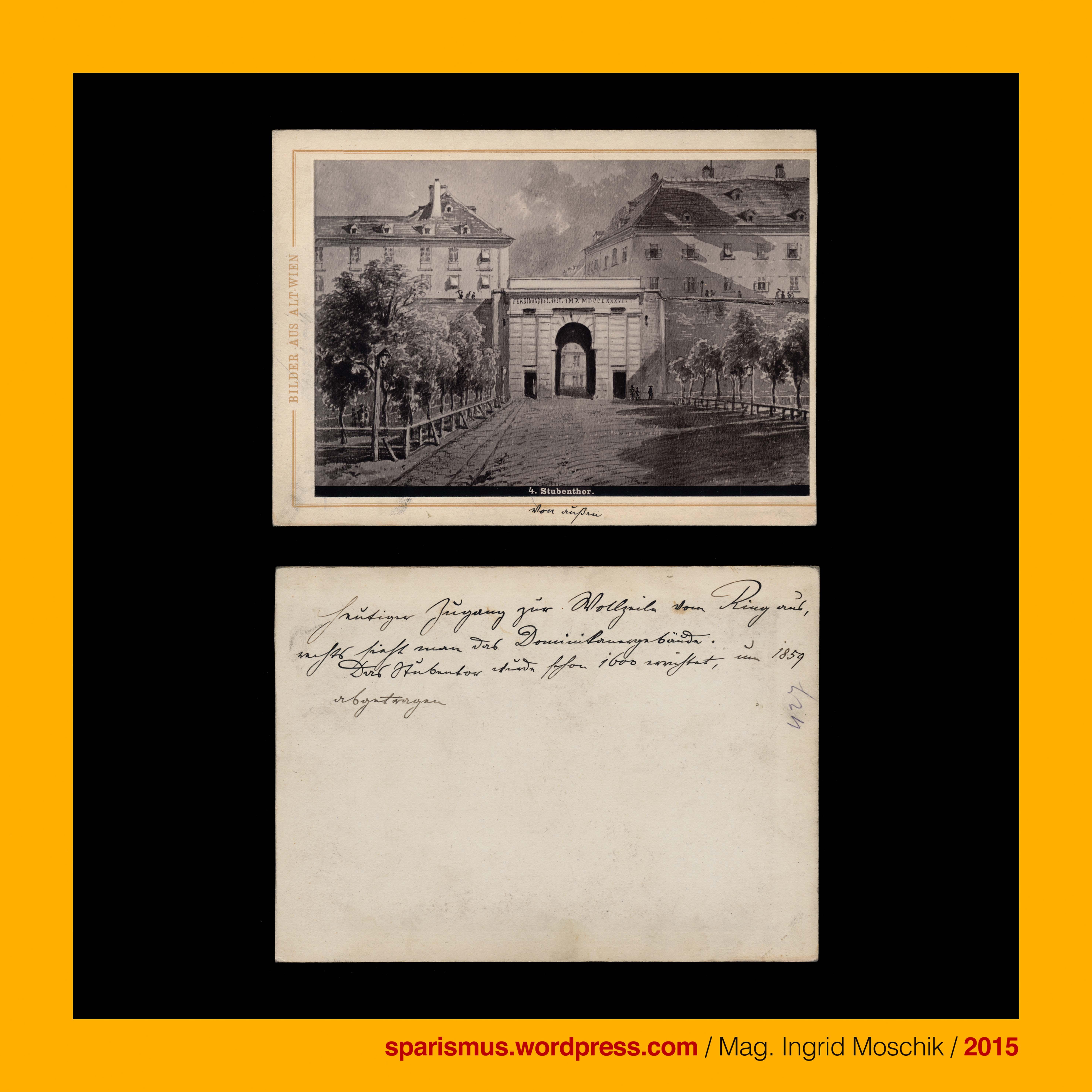 Verlag V A Heck M Frankenstein 1877 Bilder Aus Altwien 4