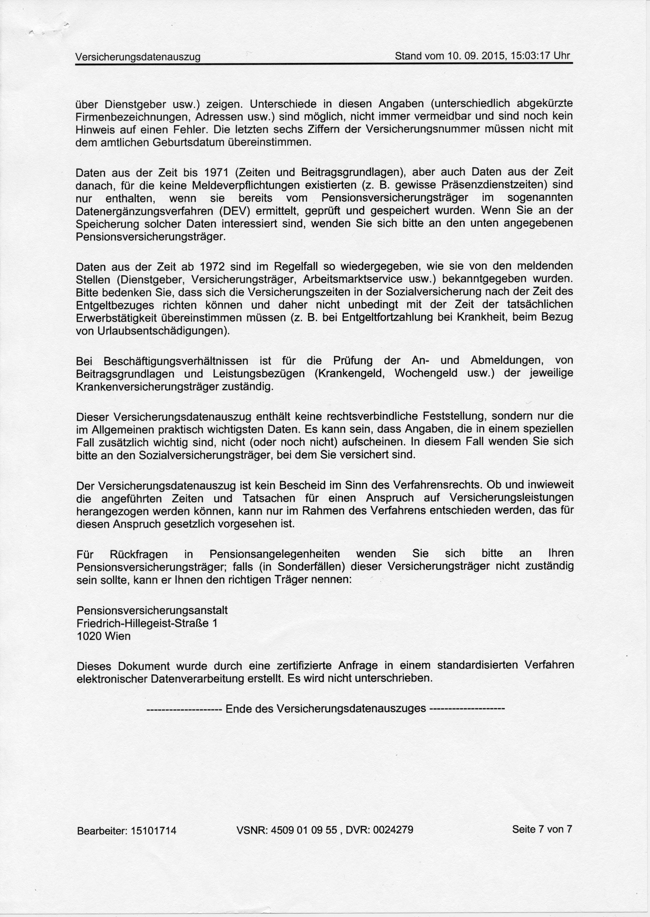 SVA-Präsident Mag. Peter McDonald – Offene Bitte um Überprüfung ...