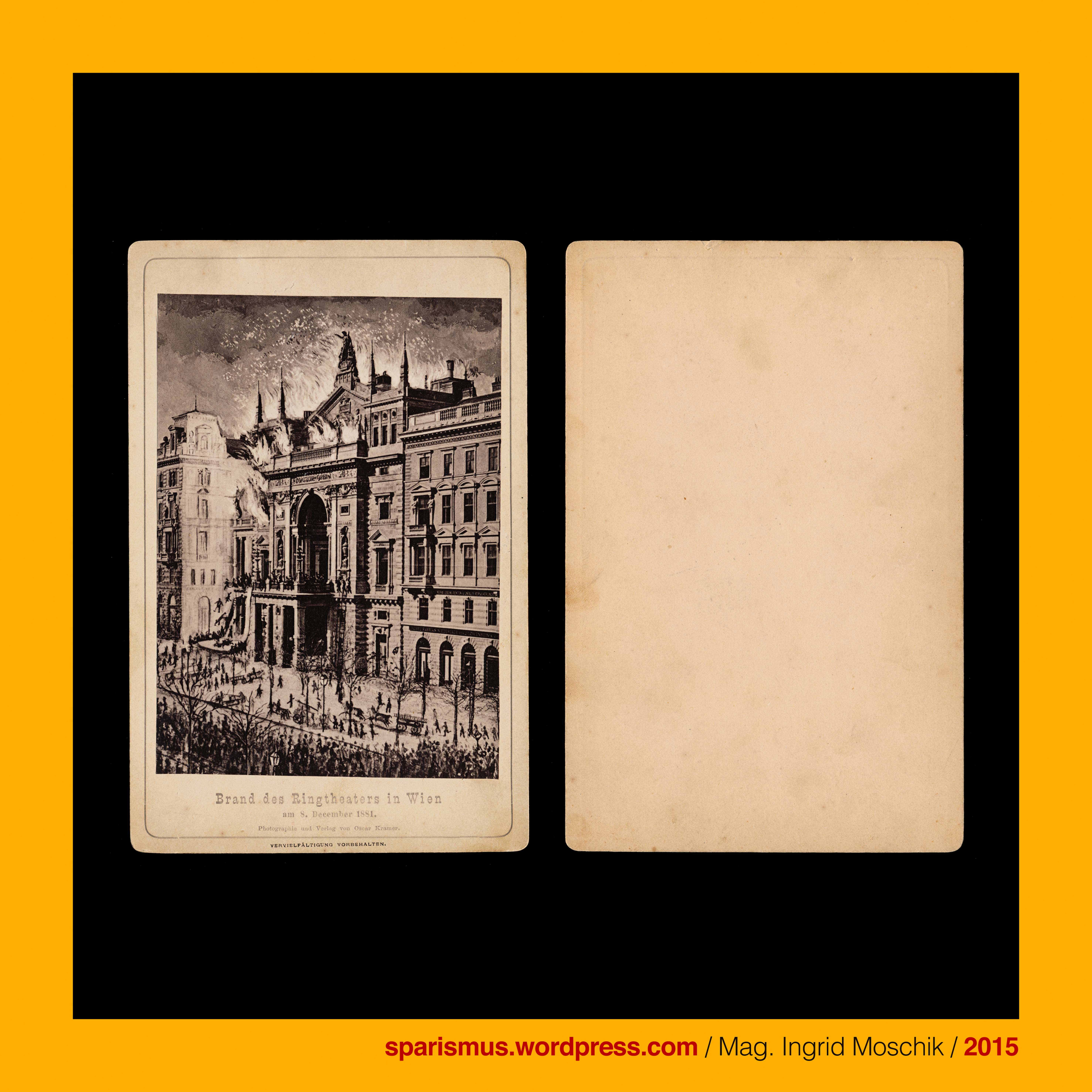 Oscar Kramer graphie und Verlag Wien Brand des