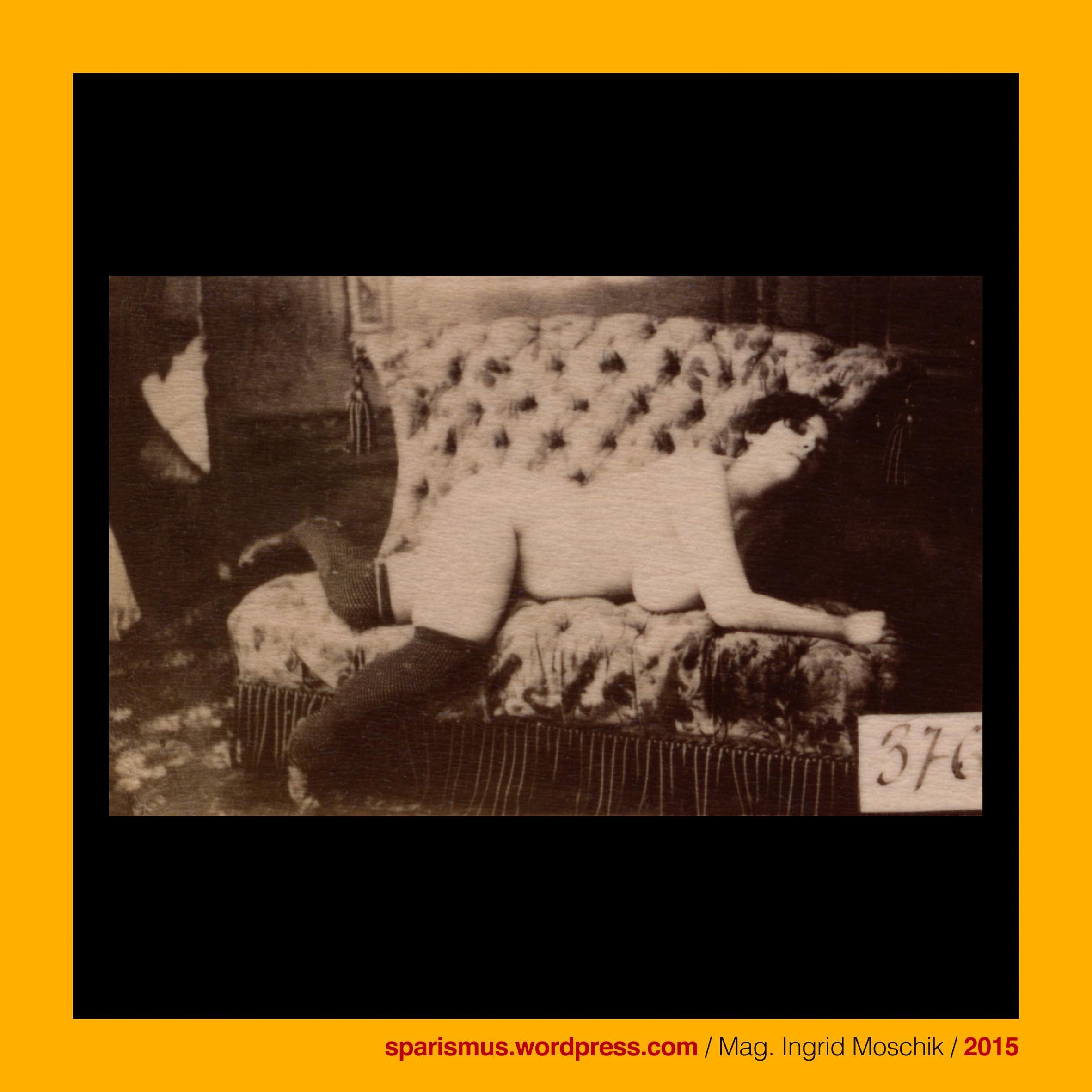 Otto Schmidt Wien 1885 376 kurvige Odaliske unbekleidet auf
