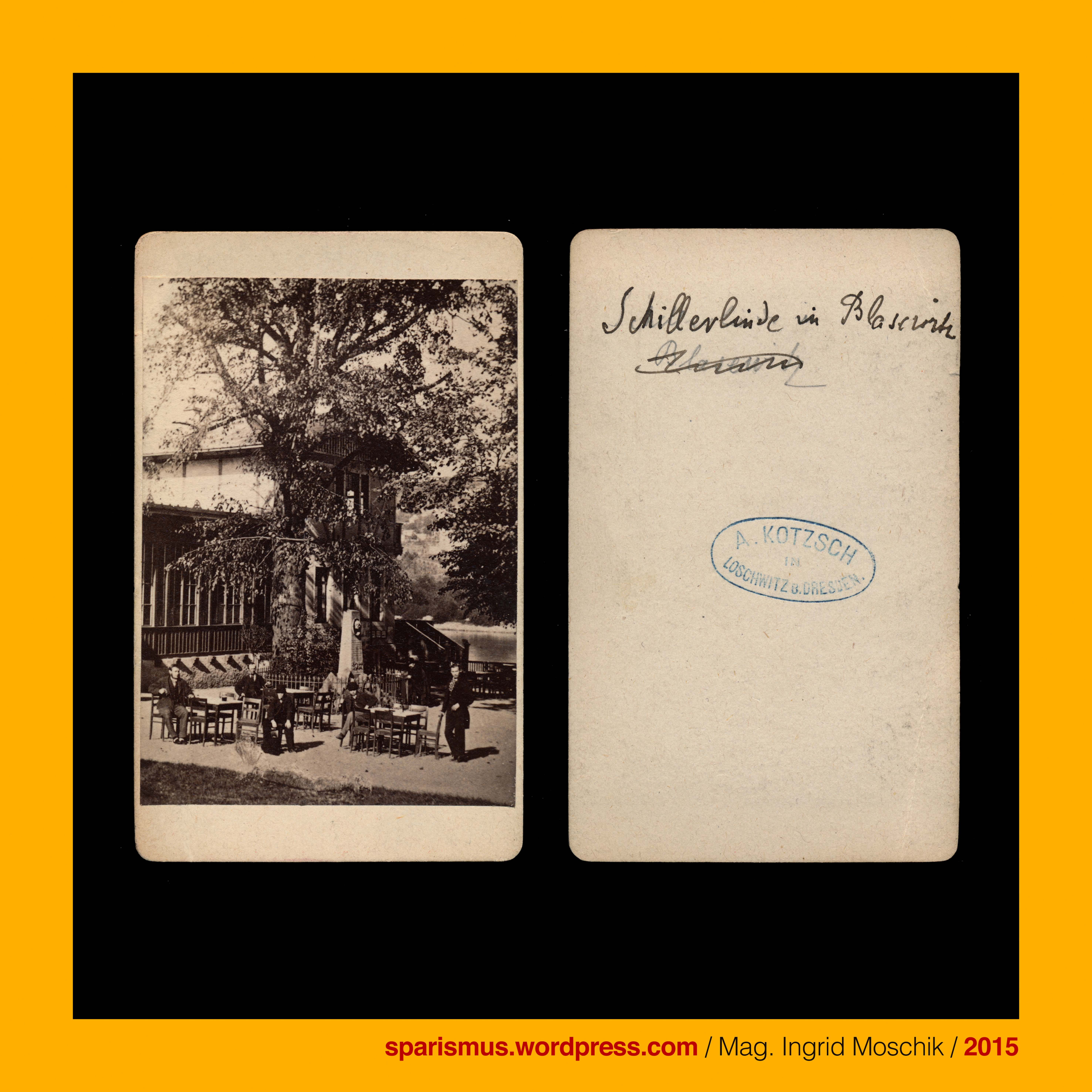 August Kotzsch, Photograph in Loschwitz bei Dresden, cdv, circa 1870 ...