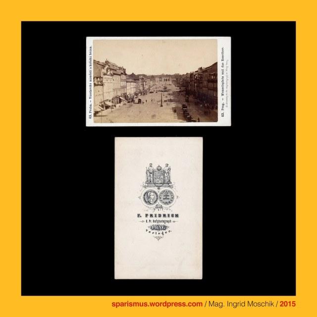 """F. Fridrich, Frantisek Fridrich (1829 Menik – 1892 Prague Praha Prag) – Czech photographer and publisher, Prag – Michaelsgasse Nr. 438-I., Praha – Michalska Nr. 438-I., Wenzel von Böhmen (circa 908 – circa 935), Wenzel von Böhmen = Wenzeslaus von Böhmen, Svaty Vaclav = Wenceslaus I, Duke of Bohemia, Wenzelsplatz (1848 bis heute), Rossmarkt = Konsky trh (1348 – 1848), Vaclavak = Vaclavaske namesti = Wenceslaus Square, Prag - Palais Thurn und Taxis = Thurn-Taxisovsky palac (1726 bis heute), Prag - Mala Strana - Letenska 7 = Palac Thurn-Taxisu, Prag - Certovka - Moldau-Kanal, Prag - Certovka = German """"Teufelsgraben"""" = English """"Devils Channel"""" = Italiano """"canale del diavolo"""", Prag - Letna = Sommerberg = Belvedere, Prag – Letna Park = Letenske sady = Letna Park, Prag – Letna Ebene = Letenska plan = Letna plain, Stockrose = hollyhock = Stockmalve = Pappelrose = Bauernrose = Alcea rosea = Althea rosea, hollyhock = Middle English holihoc """"holy marsh mallow"""" """"Holy Land mallow"""", Camellia = Kamelie = Camellia japonica L., Camellia japonica nach """"KAMEL"""" durch Carl von Linne, Georg Joseph Kamel (1661 Brünn – 1701 Manila) = Georgius Josephus Camellus - mährischer Jesuit und Naturforscher = nomenklatorisch """"KAMEL"""", Narcissus tazetta = Tazetta = Tazette = Strauss-Narzisse = Bukett-Narzisse = mehrblütige Narzisse = paperwhite, bunch-flowered narcissus = bunch-flowered Daffodil = Chinese sacred lily = cream narcissus = joss flower = polyanthus narcissus, Narcissus tazetta = Tazetta = Tazette , Narcissus tazetta = Tazetta = Tazette = paperwhite = bunch-flowered narcissus = bunch-flowered Daffodil = Chinese sacred lily = cream narcissus = joss flower = polyanthus narcissus, Tazetta = Tässchen-Narzisse = it. tazetta """"Tässchen"""", Libonia floribunda = Libonia floribunda K. Koch = Jacobinia pauciflora (Nees) Lindau = Justicia floribunda (K. Koch) Wassh.) = Justicia rizzinii = Brasilian Fuchsia, Libonia floribunda = Brasilian Fuchsia, Libonia floribunda = Libonia floribunda K. Koch = Justici"""
