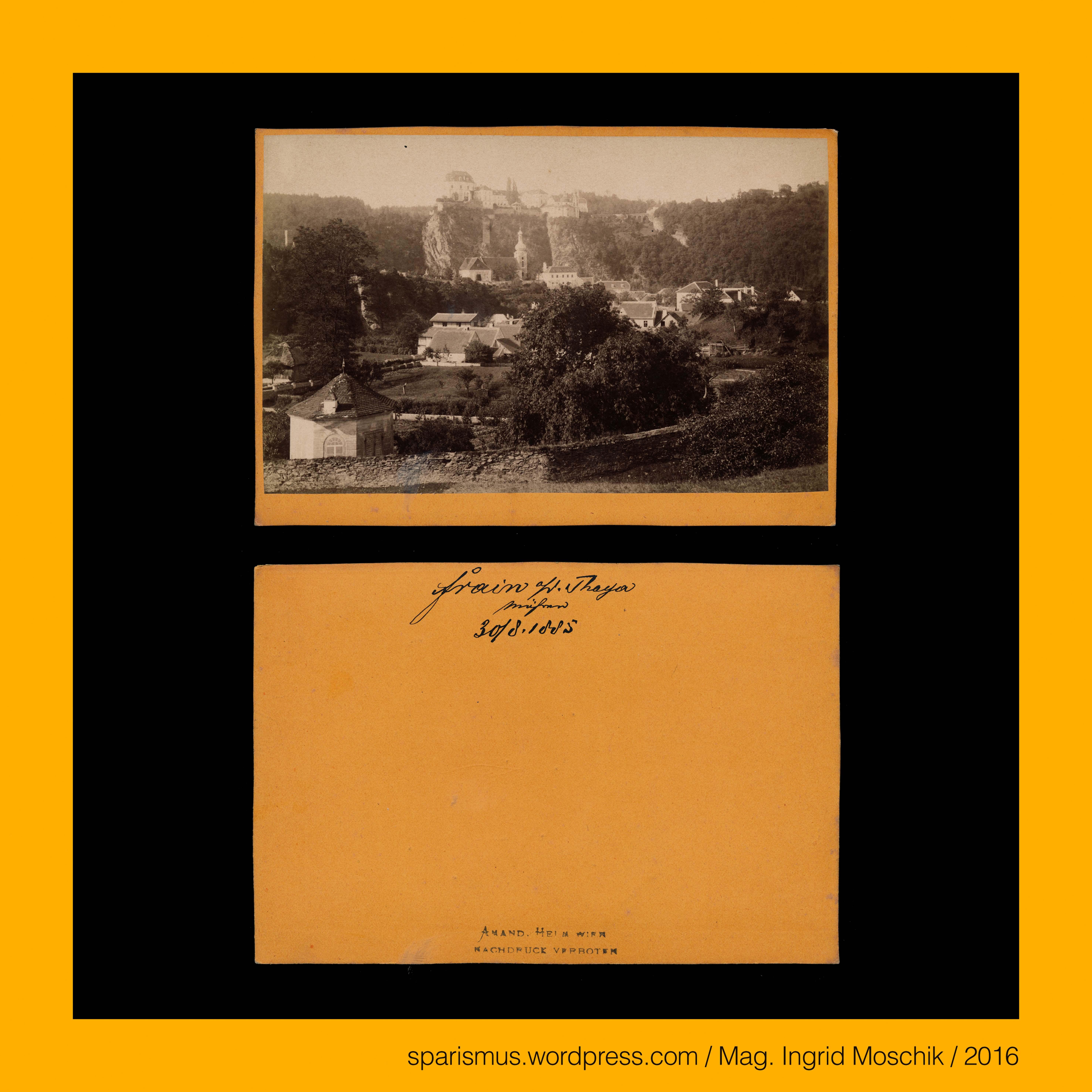amand-helm-wien-fotograf-frain-an-der-thaya-vranov-nad-duji-1885 Impressionnant De Devant De Maison Schème