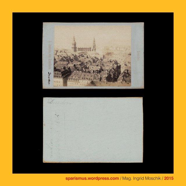 """Hermann Krone, Hermann Krone – Dresdner Fotograf, Hermann Krone (1827-1916) – deutscher Fotopionier, Hermann Krone (1827 Breslau – 1916 Laubegast) - deutscher Fotograf Wissenschaftler Hochschullehrer Publizist, Dresden = Dreseden (1216) = Dresdene (1206) = obersorbisch Drjezdzany = altsorbisch drezd'any """"Sumpf- oder Auwald-Bewohner"""", Dresden – (Evangelische) Kreuzkirche (vor 1500-1900 bis heute), Dresden - Hofkirche = Stadtpfarrkirche zur Dreieinigkeit, Dresden – (Katholische) Hofkirche = Kathedrale Ss. Trinitas (1739-55 bis heute), Dresden – (Protestantische) Frauenkiche = Kirche unseren Lieben Frau (1726-1743), Dresden – Residenzschloss - Hausmannsturm (um 1400-1776 bis heute), Dresden – """"Alte Elbbrücke"""" = Augustusbrücke (1727-31 bis 1907), Dresden - Frauenkiche = Kirche unseren Lieben Frau (1726-1743), Dresden - Frauenkiche = Kirche unseren Lieben Frau (1726-2005 bis heute), The Austrian Federal Chancellery, Bundeskanzleramt Österreich, BKA, Ballhausplatz 2, Sparismus, Sparen ist muss,  Sparism, sparing is must Art goes politics, Zensurismus, Zensur muss sein, Censorship is must, Mag. Ingrid Moschik, Mündelkünstlerin, ward artist, Staatsmündelkünstlerin, political ward artist, Österreichische Staatsmündelkünstlerin, Austrian political ward artist, Österreichische Staatsmündel-Künstlerin"""