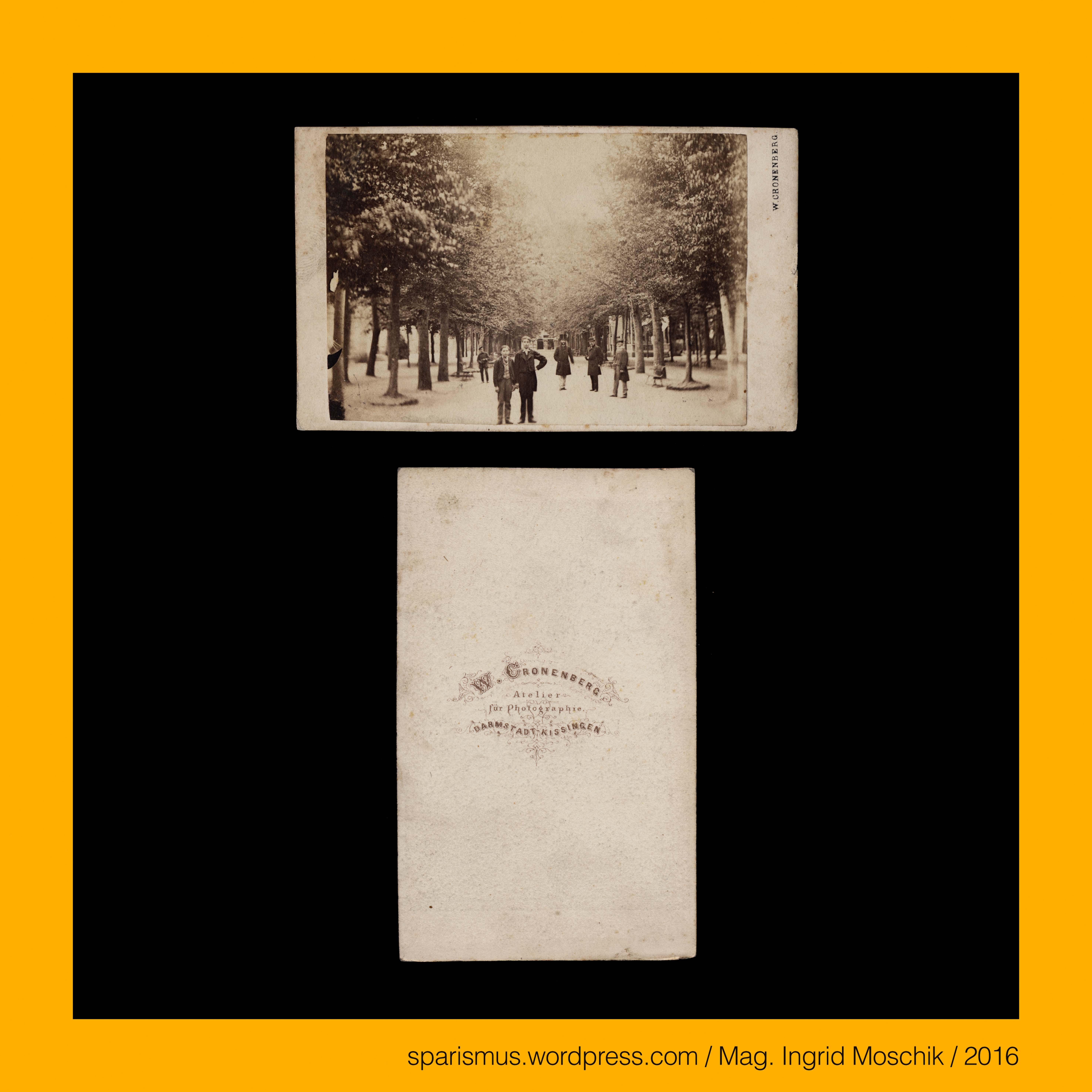 "W CRONENBERG Wilhelm Cronenberg = Wilhelm Kronenberg Wilhelm Cronenberg 1836 Frankfurt am Main """