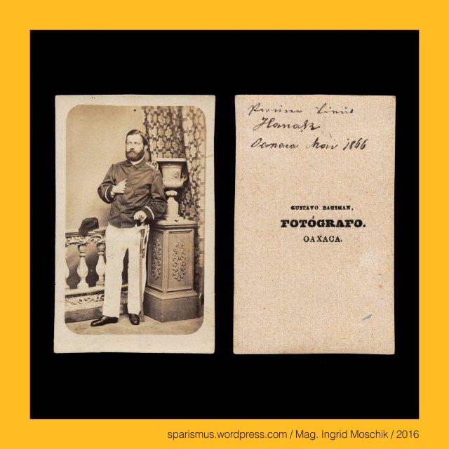 """Francois Aubert (1829 Lyon – 1906 Condrieu) – 1860-69 als französischer Maler und Fotograf in Mexico, Gustavo Bausman Fotografo Oaxaca, Bausman – Mexican photographer in Oaxaca in the 1860s, Anonymus, anonymous, undidentified, Pionier-Lieutenant Hanak, Mexico – Oaxaca – Tehuantepec (founded 15th century), Mexico – Oaxaca – Tehuantepec – Nahuatl tecuani + tepec """"hill of the wild animals or beasts or demons"""" = """"Menschenfresser von den Bergen"""", Nahuatl tecuani = tequani """"Menschen-Fresser"""" or """"cruel person"""" or """"wild animal"""", Nahuatl te """"someone or people"""" + cua = qua """"eat"""" + -ni (habitual suffix), Nahuatl tepec """"on a hill or on a mountain"""", Nahuatl tepetl = tepe """"hill or mountain"""" + -c (locative suffix), Indianer, Eingeborener, Einheimischer, indigener Bauer, einheimischer Bauer, bodenständiger Bauer, ansässiger Bauer, beheimateter Bauer, Ureinwohner, native, Native American, indigenous farmer, local farmer, aboriginal farmer, autochthonous farmer, Inländer, inländischer Bauer, Landeskind, bebürtiger Bauer, ortsansässiger Bauer, Mexico – Stein der Sonne = Sonnenstein = aztekischer Kalenderstein = Montezumas Uhr = Azteken-Kalender, Mexico – Piedra del Sol = Reloj de Montezuma, Mexico – Aztec calendar stone = Sun Stone = Calender Stone = Stone of the Five Eras, Mexico – Calendrier Azteque = Pierre du Soleil, Podmanitzky family – noble family in the Kingdom of Hungary, Podmanin – little village near Povaszska Bystriza Slovakia, Podmanin = Podamanyn = Podmaninich, Jäger-Lieutenant Baron Podmanitzky, Frigyes Baron Podmaniczky von Aszod und Podmanin (1824-1907) – ungarischer Politiker Theaterindendant Schriftsteller, Mexico – Oaxaca – Oaxaca de Juarez, Mexico – Oaxaca – Oaxaca de Juarez – Alameda de Leon, Mexico – Oaxaca – Oaxaca de Juarez – Basilica de Nuestra Senora de la Soledad (1682-90 – today), Mexico – Oaxaca = Nahuatl-Sprache Huaxyacac """"der Ort an der Spitze der Weisskopfmimose"""" = huaxin """"Weisskopfmimose"""" + yacatl """"Nase"""", Mexico – Oaxaca = Nahuatl Huaxyacac Guaxyacac """