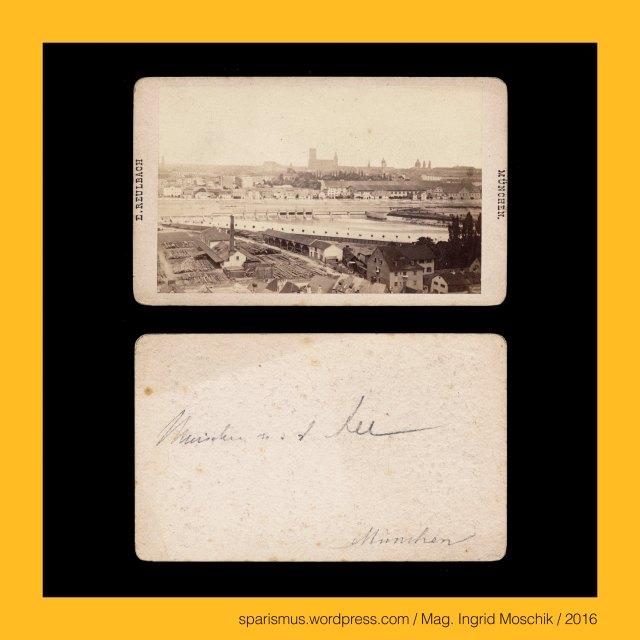 """E. Reulbach, Ernest Reulbach, Ernst Reulbach (1823 München -1874 München) – Photograph in München von etwa 1855 bis 1874, München – Au-Haidhausen – seit 1854 5. Bezirk von München, München – Au – Etymologie 1 mhd. Awe ze Geysingen (1340) - """"Flussniederung der Speerleute"""" = idg. idg. *akwa- *aquo """"Flussniederung"""" + idg. *geis- *keis """"Speer Geissel"""", München – Ludwigstrasse – Bayerische StaatsBibliothek = BSB (1558 bis heute), München – Ludwigstrasse – BSB = Bayerische Hof- und Staatsbibliothek (1831-1843 bis heute), München = engl. fr. span. Munich = it. Monaco di Baviera, München = mhd. munch munech = ahd. munih """"Mönch monk"""" = 1158 forum apud Munichen """"bei den Mönchen"""" (Kloster Schäftlarn), München = lat. Monacum Monachium = kelt. Munica Monica """"Ort auf der Ufertrasse"""" (Fluss Isar), München an der Isar, Isar = indogermanisch *es- = PIE *is """"fliessendes Wasser"""" """"Wasserlauf"""" – Eis Eisach Eisack Isel Isarco Jizera Izera Oise Isere Ister, München – Au-Haidhausen - Nockherberg, The Austrian Federal Chancellery, Bundeskanzleramt Österreich, BKA, Ballhausplatz 2, Sparismus, Sparen ist muss, Sparism, sparing is must Art goes politics, Zensurismus, Zensur muss sein, Censorship is must, Mag. Ingrid Moschik, Mündelkünstlerin, ward artist, Staatsmündelkünstlerin, political ward artist, Österreichische Staatsmündelkünstlerin, Austrian political ward artist"""