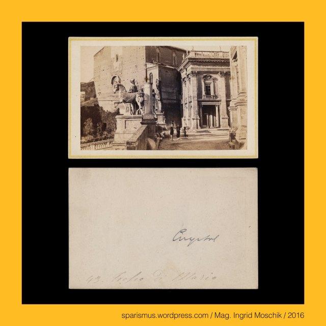 LIBRERIA SPITHOEVER, JOS. SPITHOEVER - PIAZZA DI SPAGA – ROMA, Joseph Spithoever, Josef Spithoever, Josef Spithöver (1813 Sendenhorst – 1892 Roma) – römischer Buchhändler und Verleger deutscher Abstammung, SPITHOVER - Place d'Espangne – Rome, Libreria Tedesca Di Guis - Spithöver in Roma, Libreria Spitöver – Roma -  85 Piazza di Spagna, Roma = Rom = Rome, Roma – Campidoglio – lat. Capitolium or mons or collis Capitolinus – dt. Kapitol – engl. Capitol or Capitoline Hill, Roma – Campidoglio – Santa Maria in Aracoeli – lat. Basilica Sanctae Mariae de Ara coeli, The Austrian Federal Chancellery, Bundeskanzleramt Österreich, BKA, Ballhausplatz 2, Sparismus, Sparen ist muss,  Sparism, sparing is must Art goes politics, Zensurismus, Zensur muss sein, Censorship is must, Mag. Ingrid Moschik, Mündelkünstlerin, ward artist, Staatsmündelkünstlerin, political ward artist, Österreichische Staatsmündelkünstlerin, Austrian political ward artist