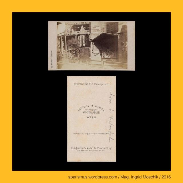 """Dr. Timm Starl (*1939 Wien - ) - österreichischer Kulturwissenschaftler Fotohistoriker Ausstellungskurator FOTOGESCHICHTE-Gründer, Miethke & Wawra, Verlag Miethke & Wawra in Wien, Miethke & Wawra (1861 – 1874 Kunst- und Photohandlung in Wien), Hugo Othmar Miethke (1834 Potsdam – 1918 Gutenegg bei Cilli), Carl Josef Wawra (1839 Wien - 1905 Wien), Wien – I. Innere Stadt – Stephansdom – Lacknerscher Epitaph mit Chrsitus am Ölberg von Getsemani (1502 bis heute), Lienhard Lackner = Leonhart Lackner (? Wiener Neustadt – 1517 Wien) – Wiener Kaufmann und Bürgermeister (1502), Getsemani (auch Gethsemani und Gethsemane) (von hebräisch גת שמנים Gat-Schmanim – Ölpresse) – Ort am Fusse des Ölbergs in Jerusalem, Wien – I. Innere Stadt – Kohlmarkt 6 – """"Café Fetzer"""" (1852-1874), Wien – II. Leopoldstadt – Praterstrasse 8 bzw. Untere Donaustrasse 7 = Haus Dittmann (1833-1956) - Kaffeehaus Fetzer (1874), Wien – II. Leopoldstadt – Praterstrasse 4-6 – Café Stierböck (1790 bis nach 1839), Georg Fetzer ( ? Würzburg – 1874 Wien) – Wiener Kaffeehaus-Betreiber (1852-1874), Johannes Capistranus (1386 Capistrano L'Auila – 1456 Ilok Vukovar) - Wanderprediger Heerführer Inquisitor Judenverfolger, Johannes Capistranus = Giovanni da Capistrano (1386 – 1456) - Wanderprediger Heerführer Inquisitor Judenverfolger, Johannes Capistranus = John of Capitrano = Giovanni da Capistrano – Schutzpatron der Rechtsanwälte und Militärseelsorger, Wien - I. Innere Stadt – Stephansdom – Capistrankanzel - ehemals hölzerne Erhöhung am Stephansfreithof (um 1430-50), Wien - I. Innere Stadt – Stephansdom – Capistrankanzel (1451-1752 bis heute) – gothische Sandstein-Kanzel aussen an der Nordostseite, Wien - I. Innere Stadt – Stephansdom – Capistrankanzel = Capitran-Kanzel mit barockem Figuren-Überbau (1752 bis heute), Schwarzenberg-Denkmal (1867 bis heute), Karl Philipp von Schwarzenberg (1771 Wien – 1820 Leipzig) – österreichischer Heerführer, Schwarzenbergplatz (1880 bis heute), Ernst Julius Hähnel (1811 Dreden – 1891 """