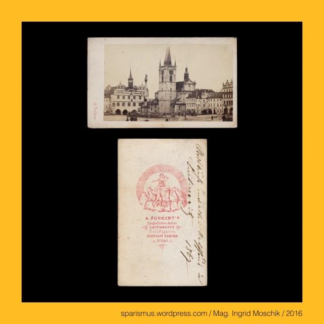 """A Porkert, Porkert = Burghard – Etymologie 1 """"der hart eine Burg verteidigt"""", A. Porkert – Fotograf in Leitmeritz in den 1860-70ern, """"A. PORKERT'S fotografisches Atelier LEITMERITZ Rudolfsgarten VORSTADT DUBINA No. 243."""", """"A. PORKERT'S fotografisches Atelier LEITMERITZ Lange Gasse No. 200."""", Leitmeritz, Litomerice, Leitmeritz = Litomerice (10. Jahrhundert - 1225 bis heute), Elbe = Elv =  (tschechisch) Labe – (lateinisch) Albis – (germanisch) Albia – idg. *(h)-elb-(o)- """"weisser oder heller Fluss"""", Eger = Ohre = Oharka Ohara – Agara = Agira (805) – Ogra (1125) – Oegre = Egre = Eger (1165) – keltisch *agara """"stark oder wild strömender Fluss"""",  The Austrian Federal Chancellery, Bundeskanzleramt Österreich, BKA, Ballhausplatz 2, Sparismus, Sparen ist muss,  Sparism, sparing is must Art goes politics, Zensurismus, Zensur muss sein, Censorship is must, Mag. Ingrid Moschik, Mündelkünstlerin, ward artist, Staatsmündelkünstlerin, political ward artist, Österreichische Staatsmündelkünstlerin, Austrian political ward artist, Österreichische Staatsmündel-Künstlerin"""