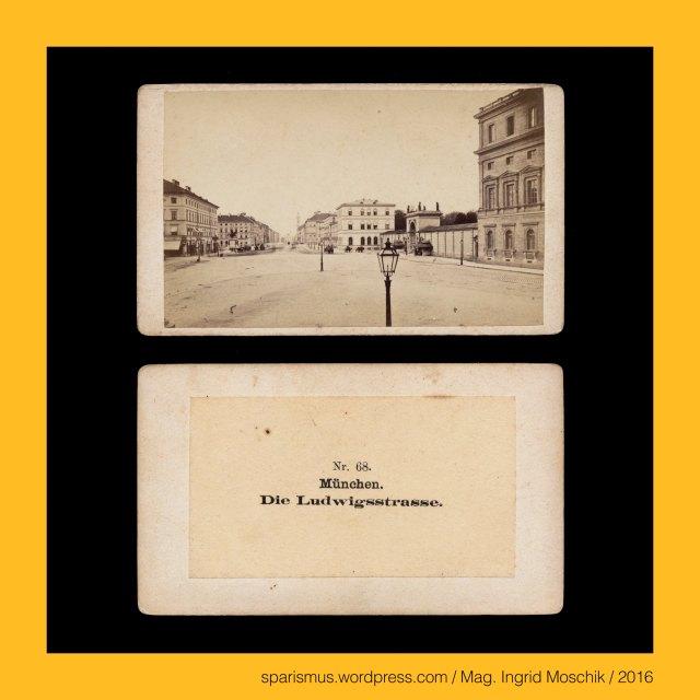"""E. Reulbach, Ernest Reulbach, Ernst Reulbach (1823 München -1874 München) – Photograph in München von etwa 1855 bis 1874, München – Ludwigstrasse (ca. 1830 bis heute), München – Ludwigstrasse – ca. 1 km lange Prachtstrasse vom Odeonsplatz mit nordöstlichem Verlauf zum Siegestor, Ludwig I. (1786 Strassburg – 1868 Nizza) – von 1825 bis 1848 (Wittelsbacher) König von Bayern, München – Glaspalast (1854-1931) – Gebäudekomplex auf dem Gelände des Alten Botanischen Gartens in der Innenstadt, München – Glaspalast (1854-1931) – Gebäudekomplex für Industrie- und Kunstausstellungen, München - Maximilianstrasse (1852 bis heute), München - Maximiliansbrücke (1863 bis heute), München – Maximilianeum (1874 bis heute), München – Maximilian II. Joseph (1811 München – 1864 München) – 1848 bis 1864 bayrischer König aus dem Geschlecht der Wittelsbacher, München – Marienplatz (1854 bis heute), München – Marienplatz = Schrannenplatz (circa 1700 bis 1854), München – Marienplatz = Schrannenplatz = Marktplatz (1158 bis circa 1700), München – Au-Haidhausen – seit 1854 5. Bezirk von München, München – Au – Etymologie 1 mhd. Awe ze Geysingen (1340) - """"Flussniederung der Speerleute"""" = idg. idg. *akwa- *aquo """"Flussniederung"""" + idg. *geis- *keis """"Speer Geissel"""", München – Ludwigstrasse – Bayerische StaatsBibliothek = BSB (1558 bis heute), München – Ludwigstrasse – BSB = Bayerische Hof- und Staatsbibliothek (1831-1843 bis heute), München = engl. fr. span. Munich = it. Monaco di Baviera, München = mhd. munch munech = ahd. munih """"Mönch monk"""" = 1158 forum apud Munichen """"bei den Mönchen"""" (Kloster Schäftlarn), München = lat. Monacum Monachium = kelt. Munica Monica """"Ort auf der Ufertrasse"""" (Fluss Isar), München an der Isar, Isar = indogermanisch *es- = PIE *is """"fliessendes Wasser"""" """"Wasserlauf"""" – Eis Eisach Eisack Isel Isarco Jizera Izera Oise Isere Ister, München – Au-Haidhausen - Nockherberg, The Austrian Federal Chancellery, Bundeskanzleramt Österreich, BKA, Ballhausplatz 2, Sparismus, Sparen ist muss"""