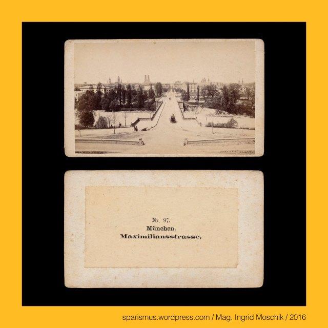 """E. Reulbach, Ernest Reulbach, Ernst Reulbach (1823 München -1874 München) – Photograph in München von etwa 1855 bis 1874, München - Maximilianstrasse (1852 bis heute), München - Maximiliansbrücke (1863 bis heute), München – Maximilianeum (1874 bis heute), München – Maximilian II. Joseph (1811 München – 1864 München) – 1848 bis 1864 bayrischer König aus dem Geschlecht der Wittelsbacher, München – Marienplatz (1854 bis heute), München – Marienplatz = Schrannenplatz (circa 1700 bis 1854), München – Marienplatz = Schrannenplatz = Marktplatz (1158 bis circa 1700), München – Au-Haidhausen – seit 1854 5. Bezirk von München, München – Au – Etymologie 1 mhd. Awe ze Geysingen (1340) - """"Flussniederung der Speerleute"""" = idg. idg. *akwa- *aquo """"Flussniederung"""" + idg. *geis- *keis """"Speer Geissel"""", München – Ludwigstrasse – Bayerische StaatsBibliothek = BSB (1558 bis heute), München – Ludwigstrasse – BSB = Bayerische Hof- und Staatsbibliothek (1831-1843 bis heute), München = engl. fr. span. Munich = it. Monaco di Baviera, München = mhd. munch munech = ahd. munih """"Mönch monk"""" = 1158 forum apud Munichen """"bei den Mönchen"""" (Kloster Schäftlarn), München = lat. Monacum Monachium = kelt. Munica Monica """"Ort auf der Ufertrasse"""" (Fluss Isar), München an der Isar, Isar = indogermanisch *es- = PIE *is """"fliessendes Wasser"""" """"Wasserlauf"""" – Eis Eisach Eisack Isel Isarco Jizera Izera Oise Isere Ister, München – Au-Haidhausen - Nockherberg, The Austrian Federal Chancellery, Bundeskanzleramt Österreich, BKA, Ballhausplatz 2, Sparismus, Sparen ist muss,  Sparism, sparing is must Art goes politics, Zensurismus, Zensur muss sein, Censorship is must, Mag. Ingrid Moschik, Mündelkünstlerin, ward artist, Staatsmündelkünstlerin, political ward artist, Österreichische Staatsmündelkünstlerin, Austrian political ward artist"""
