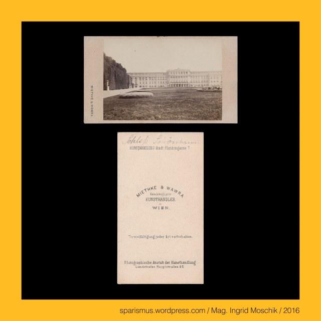 Dr. Timm Starl (*1939 Wien - ) - österreichischer Kulturwissenschaftler Fotohistoriker Ausstellungskurator FOTOGESCHICHTE-Gründer, Miethke & Wawra, Verlag Miethke & Wawra in Wien, Miethke & Wawra (1861 – 1874 Kunst- und Photohandlung in Wien), Hugo Othmar Miethke (1834 Potsdam – 1918 Gutenegg bei Cilli), Carl Josef Wawra (1839 Wien - 1905 Wien), Schloss Schönbrunn bei Wien, Schloss Schönbrunn bei Wien – lebender Zaun, Schloss Schönbrunn bei Wien – schmiedeeiserner Zaun, Wien XIII. Hietzing – Schloss Schönbrunn (1638-1780 bis heute), Wien – Salztorbrücke – Verbindung zwischen 1. und 2. Bezirk über den Donaukanal, Wien – Salztorbrücke – Karlskettensteg = Karls-Kettensteg = Karls-Steg (1827-1884), Wien – Salztorbrücke – Carlskettensteg = Carls-Kettensteg = Carls-Steg (1827-1884), Wien – Salztorbrücke – Stephaniebrücke (1884-1919), Wien – Salztorbrücke (1919 bis heute), #38000, #631, #999, The Austrian Federal Chancellery, Bundeskanzleramt Österreich, BKA, Ballhausplatz 2, Sparismus, Sparen ist muss, Sparism, sparing is must Art goes politics, Zensurismus, Zensur muss sein, Censorship is must, Mag. Ingrid Moschik, Mündelkünstlerin, ward artist, Staatsmündelkünstlerin, political ward artist, Österreichische Staatsmündelkünstlerin, Austrian political ward artist