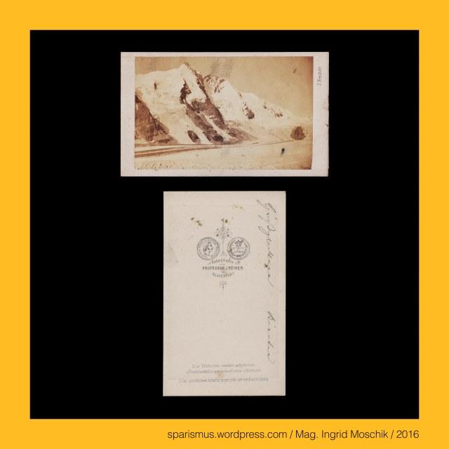"""Prof. J. Reiner, Prof. J. Reiner - Maler und Fotograf in Klagenfurt etwa 1862 bis etwa 1876, Prof. Johann Reiner, Prof. Johann Reiner (1825 Wien – 1897 Klagenfurt) - Fotograf in Klagenfurt etwa 1862 bis etwa 1876 (Verlag Alois Beer), Prof. Johann Baptist Reiner (1825 Wien – 1897 Klagenfurt) – Fotograf Zeichenlehrer (1855-1894) Musiker Volksliedsammler in Klagenfurt, Kärnten – Grossglockner, Kärnten – Glockner, Kärnten – Grossglocker = Glockner – Etymologie 1 """"kuhglockenförmiger Berg"""", Kärnten – Grossglocker (1799) - Glockner – Gloggner - Glöckelberg - Glockner Berg - Glogger (1583) - Glocknerer (1562), Kärnten – Kleinglockner (3783 m ü.A.) – obere Glocknerscharte trennt ihn vom Grossglockner, Kärnten - Grossglockner = der Glockner = der König (3798 m ü.A.) – Österreichs höchster Berg, Kärnten – Pasterze – 8 km langer Gletscher am Fusse des Grossglockners, Kärnten – Pasterze = Pasterzenkees – Etymologie 1 (slowenisch *pastirica """"Hirtengegend oder Alm-Weiden-Gebiet"""", Kärnten – Pasterze = Pasterzenkees – Pasteier """"kleine Almhütte"""" – (slowenisch) pastir """"Alm-Hirte"""", Kärnten – Heiligenblut, Kärnten - Heiligenblut - Heilige Briccius = Heilige Briktius = Heilige Brikzius = Heilige Brictius = Saint Brice = San Brizio (normannischer Pilger um 900), Kärnten - Heiligenblut - Mölltal - Bricciuskapelle Bricciusweg Bricciusquelle, Kärnten – Spittal an der Drau - Heiligenblut am Grossglockner, Kärnten - Spittal an der Drau – Heiligenblut (914 bis heute), The Austrian Federal Chancellery, Bundeskanzleramt Österreich, BKA, Ballhausplatz 2, Sparismus, Sparen ist muss, Sparism, sparing is must Art goes politics, Zensurismus, Zensur muss sein, Censorship is must, Mag. Ingrid Moschik, Mündelkünstlerin, ward artist, Staatsmündelkünstlerin, political ward artist, Österreichische Staatsmündelkünstlerin, Austrian political ward artist"""