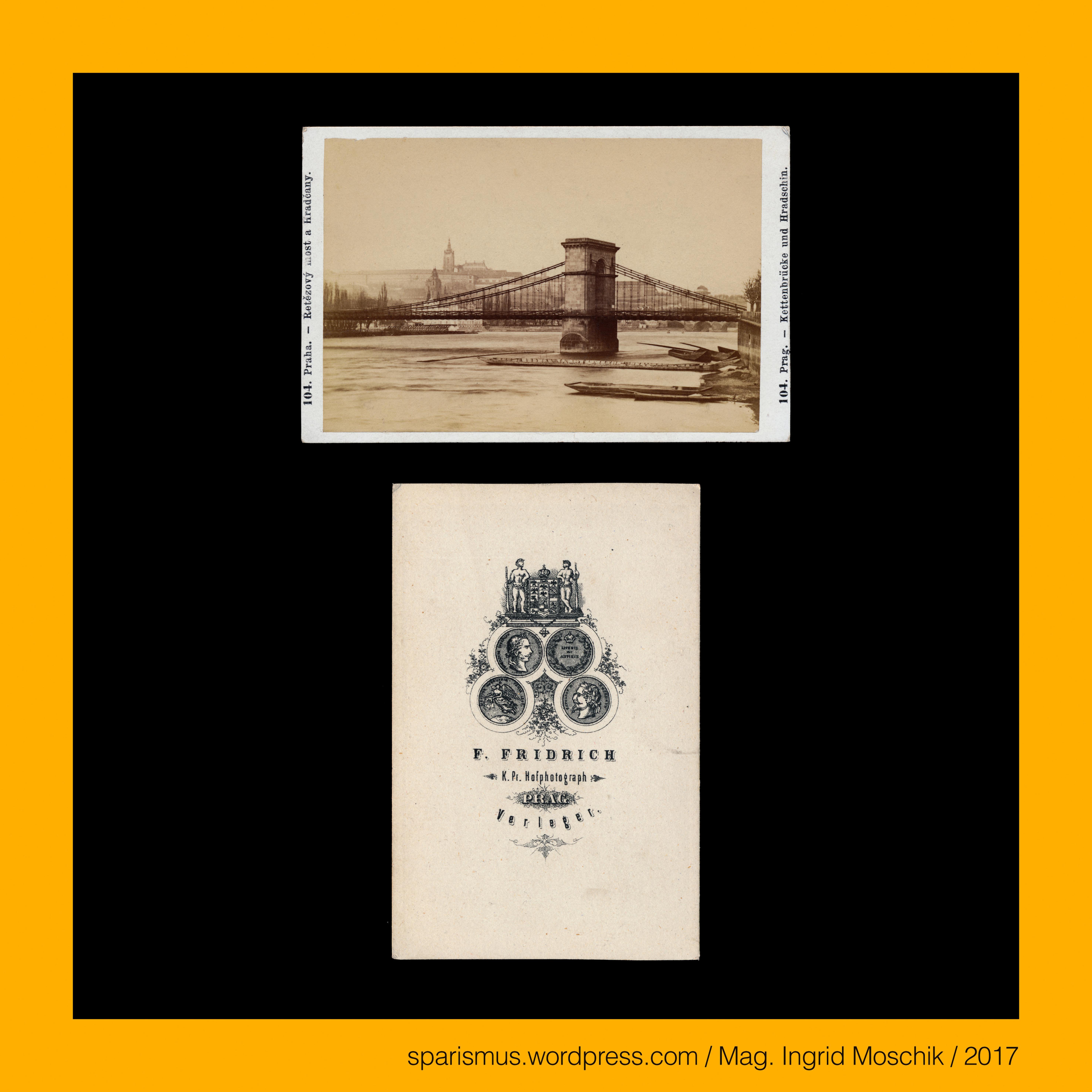 Frantisek Fridrich, #Prag, #Praha, #Prague, #Kettenbrücke ...