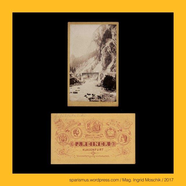 Prof. J. Reiner, Prof. J. Reiner - Maler und Fotograf in Klagenfurt etwa 1862 bis etwa 1876, Prof. Johann Reiner, Prof. Johann Reiner (1825 Wien – 1897 Klagenfurt) - Fotograf in Klagenfurt etwa 1862 bis etwa 1876 (Verlag Alois Beer), Prof. Johann Baptist Reiner (1825 Wien – 1897 Klagenfurt) – Fotograf Zeichenlehrer (1855-1894) Musiker Volksliedsammler in Klagenfurt, Steiermark – Gesäuse = Xeis , Steiermark – Gesäuse - Enns , Steiermark – Gesäuse – Nationalpark Gesäuse - Landschaftsschutzgebiet im Bezirk Liezen, Steiermark – Gesäuse – Ennstaler Alpen der Ostalpen im Bezirk Liezen, Steiermark – Gesäuse – Admont, Steiermark – Gesäuse – Weng, Steiermark – Gesäuse – Hieflau, Steiermark – Gesäuse – Johnsbach, Steiermark – Gesäusebrücke – Brücke über den Johnbach, Steiermark – Gesäuseeingang = Gesäuse-Eingang, Steiermark – Gesäuse – Himbeerstein – nördlicher Teil der Ennstaler Alpen, Steiermark – Gesäuse – Haindlmauer – südlicher Teil der Ennstaler Alpen, Steiermark – Gesäuse – Himbeerstein bei Admont, The Austrian Federal Chancellery, Bundeskanzleramt Österreich, BKA, Ballhausplatz 2, Sparismus, Sparen ist muss, Sparism, sparing is must Art goes politics, Zensurismus, Zensur muss sein, Censorship is must, Mag. Ingrid Moschik, Mündelkünstlerin, ward artist, Staatsmündelkünstlerin, political ward artist, Österreichische Staatsmündelkünstlerin, Austrian political ward artist
