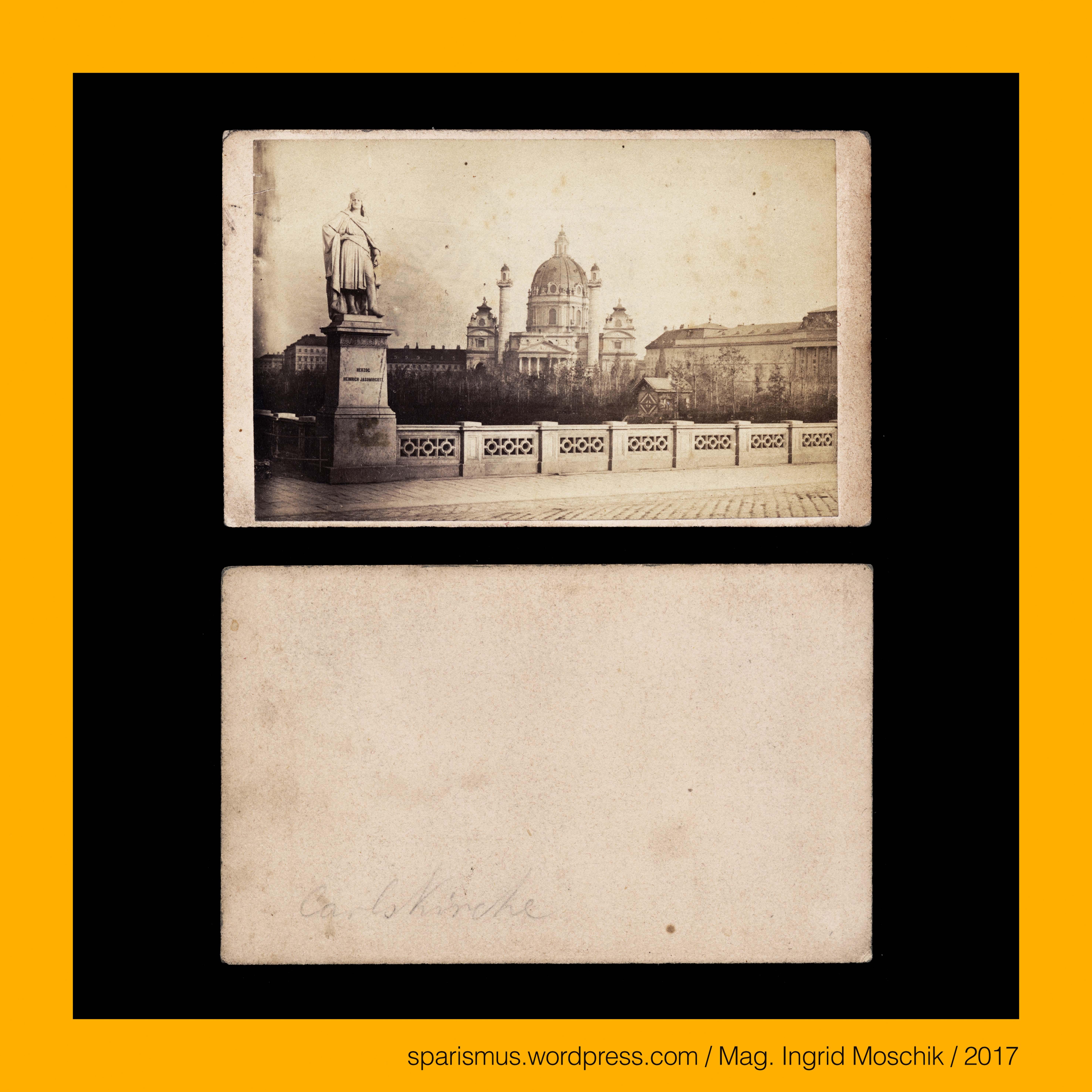 ANONYMUS, #Wien, 1870, Blick von der #Elisabethbrücke über ...