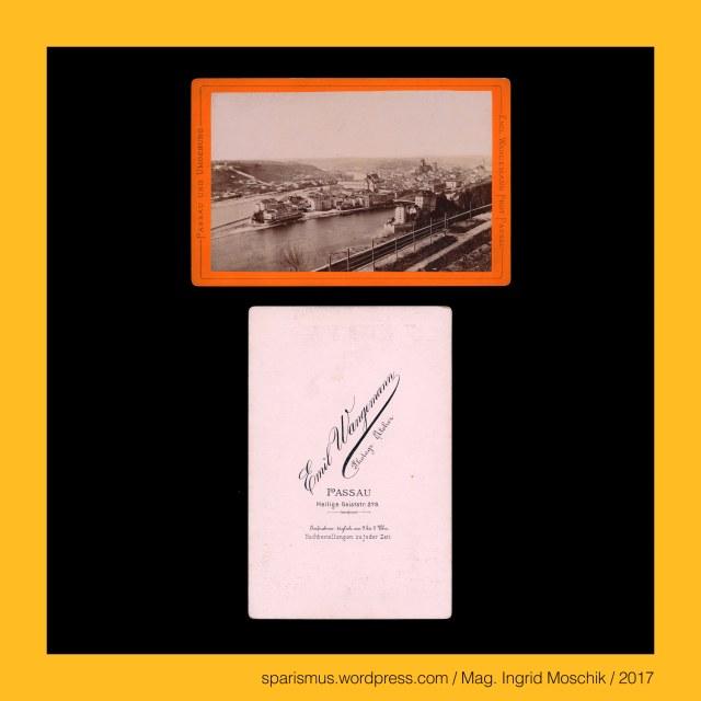 """Emil Wangemann – Passau, Emil Wangemann (1836-1892 Passau) – königlich-bayrischer Hofphotograph, Emil Wangemann (1836-1892 Passau) – bayrischer Fotograf in Passau von circa 1870 bis etwa 1892, Passau – Hals, Passau - Hals – Etymologie 1 """"enge Stelle eines Landschaft"""", Passau - Ilz = Schwarze Ilz = Schönberger Ohe , Passau - Ilz = Schönberger Ohe – linker Nebenfluss der Donau aus dem Bayerischen Wald, Passau - Ilz – Iltza = Iltsa - *(p)iliza *(p)elitsa - Etymologie 1 """"kräftiges Gerinne von dunklem Wasser"""", Passau – Ilz - """"Etymologie 1 keltisch *elito = idg. *(p)elito """"fahl grau dunkel"""" + *(h)eis(h)- """"kräftig schnell"""", Passau - Hals an der Ilz, Passau - Hals – circa 1700 Einwohner zählender Ortsteil der Stadt Passau, Passau - Hals - 1972 Eingemeindung des Marktes Hals in die Stadt Passau, Passau = Latin Batavia Batavis = Gaulish Boiodurum, Passau = Dreiflüssestadt (Donau Inn Ilz) = City of Three Rivers (Danube Inn Ilz), Passau - Wallfahrtskirche Mariahilf (1624-27 bis heute) = Paulinerkloster Mariahilf (seit 2002), The Austrian Federal Chancellery, Bundeskanzleramt Österreich, BKA, Ballhausplatz 2, Sparismus, Sparen ist muss, Sparism, sparing is must Art goes politics, Zensurismus, Zensur muss sein, Censorship is must, Mag. Ingrid Moschik, Mündelkünstlerin, ward artist, Staatsmündelkünstlerin, political ward artist, Österreichische Staatsmündelkünstlerin, Austrian political ward artist Passau - Wallfahrtskirche Mariahilf (1624-27 bis heute) = Paulinerkloster Mariahilf (seit 2002), Passau = Latin Batavia = Latin Batavis = Gaulish Boiodurum, Passau = Dreiflüssestadt (Donau Inn Ilz) = City of Three Rivers (Danube Inn Ilz)"""
