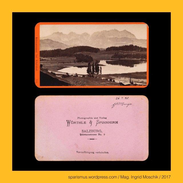 """WÜRTHLE & SPINNHIRN – Salzburg Schwarzstrasse No. 7 – Photographie und Verlag (1881-1891), WÜRTHLE & SPINNHIRN – vormals BALDI & WÜRTHLE – Salzburg Schwarzstrasse No. 3 – Photographie und Verlag (1878-1881), WÜRTHLE & SPINNHIRN, WÜRTHLE & SPINNHIRN in Salzburg, Würthle & Spinnhirn (1881 bis 1892), Hermann Spinnhirn (1840 Konstanz am Bodensee – 1892 Salzburg) – deutsch-österreichischer Chemiker Apotheker Unternehmer, Hermann Spinnhirn (1840 Konstanz – 1892 Salzburg) – Schwiegersohn von Friedrich Würthle in Salzburg, Hermann Spinnhirn (1840 Konstanz – 1892 Salzburg) – seit 1874 Partner von """"Baldi und Würthle"""" in Salzburg, Hermann Spinnhirn (1840 Konstanz – 1892 Salzburg) – von 1881 bis 1892 Teilhaber von """"Würthle & Spinnhirn"""" in Salzburg, BALDI & WÜRTHLE, Gregor Baldi (1814 Telve Val Sugana Trentino – 1878 Salzburg) – österreichischer Fotograf und Kunsthändler in Salzburg, Baldi & Würthle – gemeinsames Fotoatelier in Salzburg von 1862 bis 1874 bzw. 1882, G. Baldi – Fotoatelier in Salzburg von Jänner bis April 1874, Karl Friedrich Würthle (1810 Konstanz am Bodensee – 1902 Salzburg) – österreichischer Fotograf in Salzburg, Würthle & Spinnhirn (1882 bis 1892), Würthle & Sohn (1892 – 1916), Galerie Würthle, Tirol – Kitzbühel – Schwarzsee = Schwarzensee, Tirol – Kitzbühel – Schwarzsee – circa 2 km nordwestlich von Kitzbühel gelegener 16,55 ha grosser Moorsee auf 762 m ü.A., The Austrian Federal Chancellery, Bundeskanzleramt Österreich, BKA, Ballhausplatz 2, Sparismus, Sparen ist muss,  Sparism, sparing is must Art goes politics, Zensurismus, Zensur muss sein, Censorship is must, Mag. Ingrid Moschik, Mündelkünstlerin, ward artist, Staatsmündelkünstlerin, political ward artist, Österreichische Staatsmündelkünstlerin, Austrian political ward artist"""