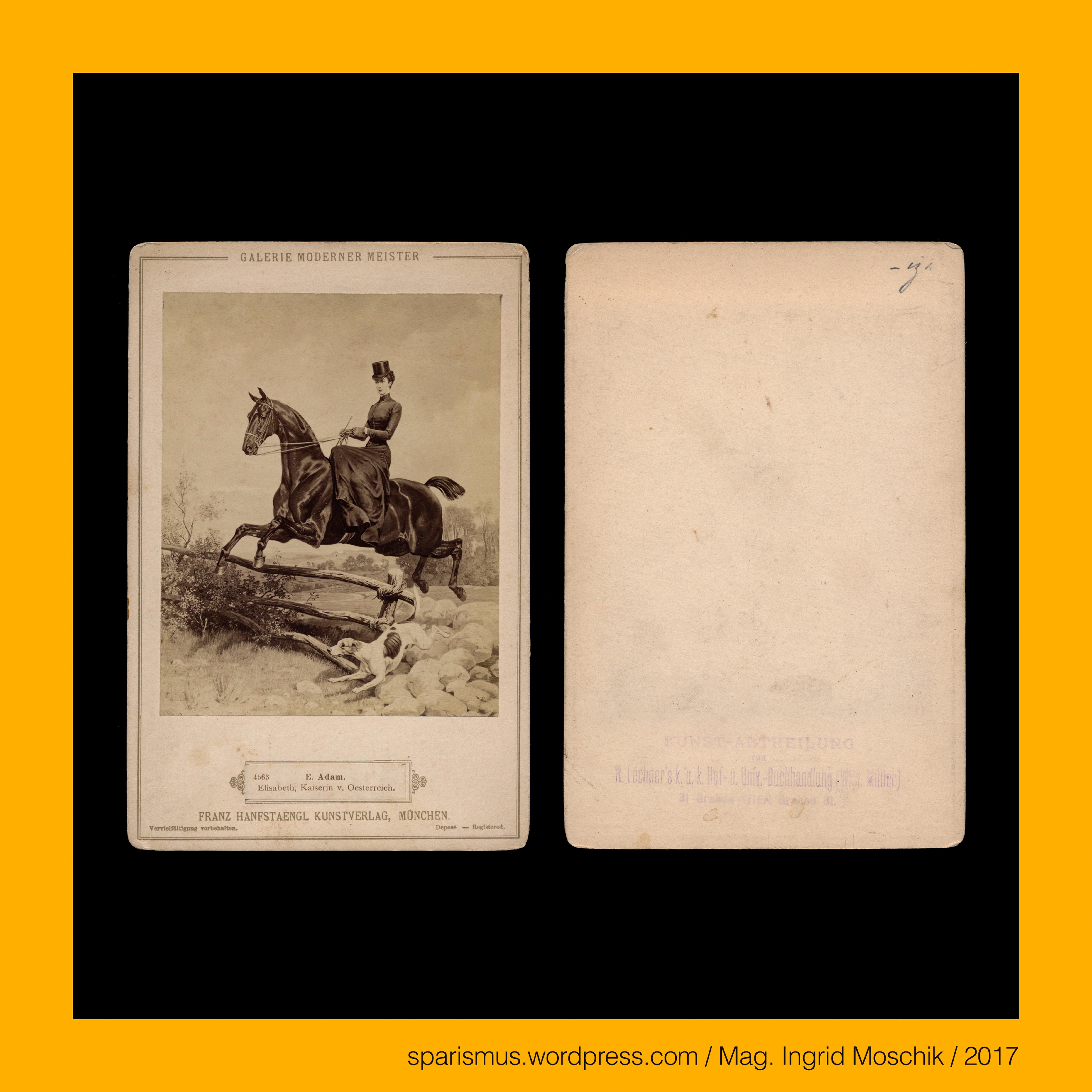 Franz #Hanfstaengl in #München, um 1875, #Sisi, Kaiserin #Elisabeth ...