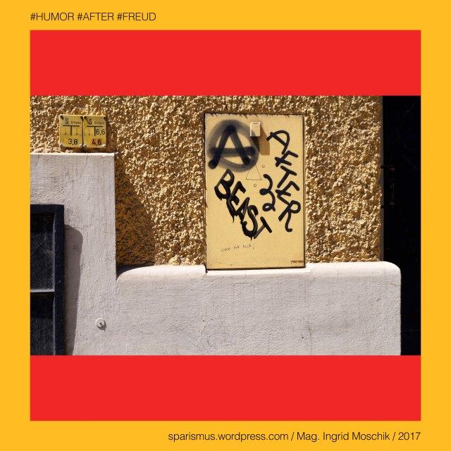 """Mag. Ingrid Moschik, Mag. Ingrid Moschik (*1955 Villach), Mag. Ingrid Moschik (*1955 Villach) – österreichische Künstlerin, Mag. Ingrid Moschik (*1955 Villach) – Austrian Artist, Graz – VI. Jakomini – Steyrergasse (1879 bis heute), Graz – VI. Jakomini – Steyrergasse – Topologie zwischen Petersgasse im Osten und Neuholdaugasse im Westen, Franz Steyrer (1809 Vordernberg – 1879 Graz) – Gewerke in der steirischen Eisenverarbeitung, Europa = Europe, Österreich = Austria, Steiermark = Styria, George Orwell (1903-1950) - """"1984"""" = """"Nineteen Eighty-Four"""" (1949) = """"Neunzehnhundertvierundachtzig"""" (1950), George Orwell (1903 Motihari Bihar – 1950 London) – englischer Schriftsteller Essayist Journalist, George Orwell (1903 Motihari Bihar – 1950 London) – Verfasser des dystopischen Romans """"Animal Farm"""" (1945), George Orwell (1903 Motihari Bihar – 1950 London) – Verfasser des dystopischen Romans """"1984"""" (1949), George Orwell (1903-1950) - """"1984"""" – Big Brother = Grosser Bruder, George Orwell (1903-1950) - """"1984"""" – """"Big Brother is Watching You"""", Sigmund Freud = Sigismund Schlomo Freud, Sigmund Freud (1856 Freiberg Mähren – 1939 London) – österreichischer Neurologe Tiefenpsychologe Kulturtheoretiker Religionskritiker, Sigmund Freud (1856 Freiberg Mähren – 1939 London) – Begründer der Psychoanalyse, Sigmund Freud (1856 Freiberg Mähren – 1939 London) – """"Die Traumdeutung"""" (1899), Sigmund Freud (1856 Freiberg Mähren – 1939 London) – """"Zur Psychopathologie des Alltagslebens"""" (1904), Sigmund Freud (1856 Freiberg Mähren – 1939 London) – """"Der Witz und seine Beziehung zum Unbewußten"""" (1905), Sigmund Freud (1856 Freiberg Mähren – 1939 London) – """"Drei Abhandlungen zur Sexualtheorie"""" (1905), After – (deutsch) der After """"Darmausgang Ausgang Anus Arschloch Poloch Loch Poperze Rosette Oasch"""" (14. Jh.), After – mhd. after aftro - ahd. aftero """"Hintere Hinterer Hintern"""" – ahd. after """"hinter nach nachstehend nachfolgend später gemäss entlang"""" (11. Jh), After - Etymologie 1 PIE *h2epo- *apo- *ap- """"off fro"""
