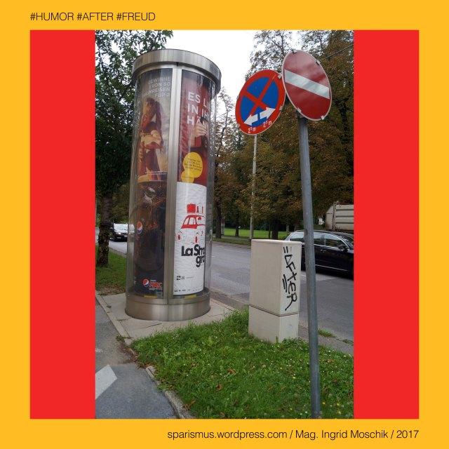 """Mag. Ingrid Moschik – Spurensicherung """"IM NAMEN DER REPUBLIK"""", Mag. Ingrid Moschik - #HUMOR #AFTER #FREUD ARTIST, Mag. Ingrid Moschik, Mag. Ingrid Moschik (*1955 Villach), Mag. Ingrid Moschik (*1955 Villach) – österreichische Künstlerin, Mag. Ingrid Moschik (*1955 Villach) – Austrian Artist, Graz – I. Innere Stadt – Opernring, Graz – I. Innere Stadt – Opernring (1947 bis heute) – Carl-Ludwig-Ring (1860-1935) – Dollfuss-Ring (1935-1938) – Friedl-Sekanek-Ring (1938-1945), Graz – I. Innere Stadt – Opernring - Topologie zwischen Am Eisernen Tor im Westen und Burgring im Osten, La Strada Graz = LaStradaGraz, La Strada Graz – seit 1997 stattfindenes internationals Strassen- und Figurentheater-Festival in Graz und Umgebung, Grazetta = grazetta.at, Grazetta – Das Magazin – seit 2008 erscheinendes Informationsblatt über Graz im internationalen Kontext, Grazetta-Eck - Graz – I. Innere Stadt – Opernring 4, Europa = Europe, Österreich = Austria, Steiermark = Styria, George Orwell (1903-1950) - """"1984"""" = """"Nineteen Eighty-Four"""" (1949) = """"Neunzehnhundertvierundachtzig"""" (1950), George Orwell (1903 Motihari Bihar – 1950 London) – englischer Schriftsteller Essayist Journalist, George Orwell (1903 Motihari Bihar – 1950 London) – Verfasser des dystopischen Romans """"Animal Farm"""" (1945), George Orwell (1903 Motihari Bihar – 1950 London) – Verfasser des dystopischen Romans """"1984"""" (1949), George Orwell (1903-1950) - """"1984"""" – Big Brother = Grosser Bruder, George Orwell (1903-1950) - """"1984"""" – """"Big Brother is Watching You"""", Sigmund Freud = Sigismund Schlomo Freud, Sigmund Freud (1856 Freiberg Mähren – 1939 London) – österreichischer Neurologe Tiefenpsychologe Kulturtheoretiker Religionskritiker, Sigmund Freud (1856 Freiberg Mähren – 1939 London) – Begründer der Psychoanalyse, Sigmund Freud (1856 Freiberg Mähren – 1939 London) – """"Die Traumdeutung"""" (1899), Sigmund Freud (1856 Freiberg Mähren – 1939 London) – """"Zur Psychopathologie des Alltagslebens"""" (1904), Sigmund Freud (1856 Freiberg Mähren – 19"""
