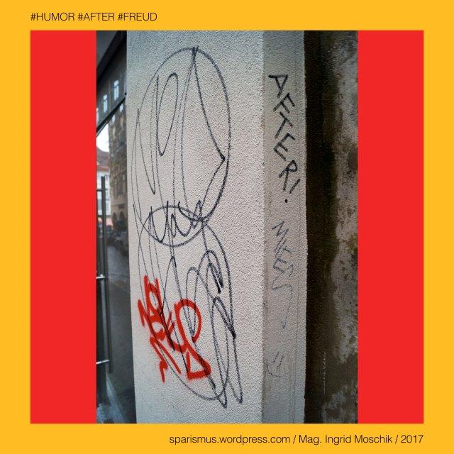 """Mag. Ingrid Moschik - #HUMOR #AFTER #FREUD #ARTIST, Mag. Ingrid Moschik – Spurensicherung """"IM NAMEN DER REPUBLIK"""", Moschik, Mag. Ingrid Moschik (*1955 Villach), Mag. Ingrid Moschik (*1955 Villach) – österreichische Künstlerin, Mag. Ingrid Moschik (*1955 Villach) – Austrian Artist, Graz – I. Innere Stadt – Sporgasse (16. Jahrhundert bis heute) – Sporergase (1346), Graz – I. Innere Stadt – Sporgasse – Topologie zwischen Hauptplatz im Westen und Karmeliterpaltz im Osten, Graz – I. Innere Stadt – Sporgasse – Etymologie mhd. sporer """"Sporenschmied Sporenmacher"""" – Spohrer Sporer Spörer Spehrer, Europa = Europe, Österreich = Austria, Steiermark = Styria, George Orwell (1903-1950) - """"1984"""" = """"Nineteen Eighty-Four"""" (1949) = """"Neunzehnhundertvierundachtzig"""" (1950), George Orwell (1903 Motihari Bihar – 1950 London) – englischer Schriftsteller Essayist Journalist, George Orwell (1903 Motihari Bihar – 1950 London) – Verfasser des dystopischen Romans """"Animal Farm"""" (1945), George Orwell (1903 Motihari Bihar – 1950 London) – Verfasser des dystopischen Romans """"1984"""" (1949), George Orwell (1903-1950) - """"1984"""" – Big Brother = Grosser Bruder, George Orwell (1903-1950) - """"1984"""" – """"Big Brother is Watching You"""", Sigmund Freud = Sigismund Schlomo Freud, Sigmund Freud (1856 Freiberg Mähren – 1939 London) – österreichischer Neurologe Tiefenpsychologe Kulturtheoretiker Religionskritiker, Sigmund Freud (1856 Freiberg Mähren – 1939 London) – Begründer der Psychoanalyse, Sigmund Freud (1856 Freiberg Mähren – 1939 London) – """"Die Traumdeutung"""" (1899), Sigmund Freud (1856 Freiberg Mähren – 1939 London) – """"Zur Psychopathologie des Alltagslebens"""" (1904), Sigmund Freud (1856 Freiberg Mähren – 1939 London) – """"Der Witz und seine Beziehung zum Unbewußten"""" (1905), Sigmund Freud (1856 Freiberg Mähren – 1939 London) – """"Drei Abhandlungen zur Sexualtheorie"""" (1905), After – (deutsch) der After """"Darmausgang Ausgang Anus Arschloch Poloch Loch Poperze Rosette Oasch"""" (14. Jh.), After – mhd. after aftro - ahd. aftero"""