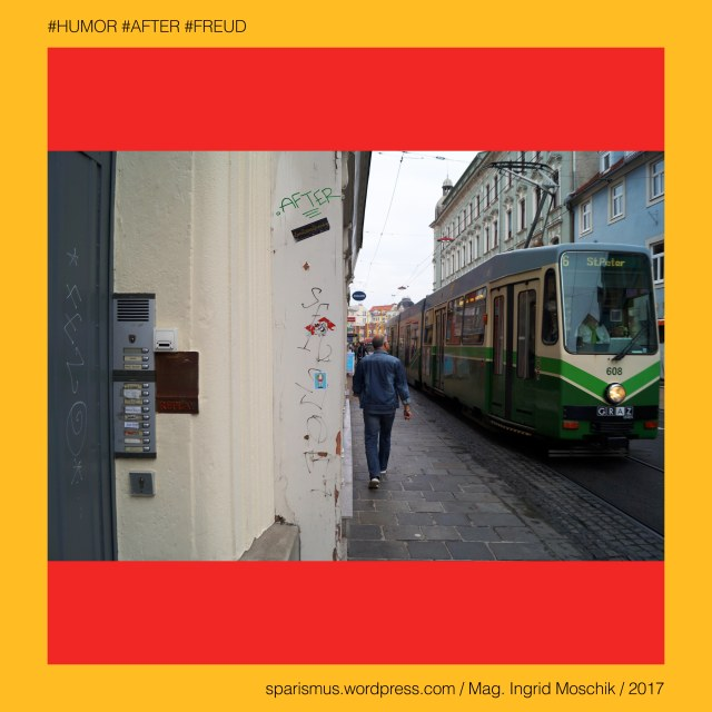 """Mag. Ingrid Moschik - #HUMOR #AFTER #FREUD #ARTIST, Mag. Ingrid Moschik – Spurensicherung """"IM NAMEN DER REPUBLIK"""", Moschik, Mag. Ingrid Moschik (*1955 Villach), Mag. Ingrid Moschik (*1955 Villach) – österreichische Künstlerin, Mag. Ingrid Moschik (*1955 Villach) – Austrian Artist, Graz – VI. Jakomini – Reitschulgasse (1800 bis heute), Graz – VI. Jakomini – Reitschulgasse – Topologie zwische Jakominiplatz im Westen und Dietrichsteinplatz im Osten, Graz – VI. Jakomini – Reitschulgasse - """"landesständische Reitschule"""" im Bereich Mondscheingasse 3, Graz – VI. Jakomini – Reitschulgasse – """"landesständische Reitschule"""" (1724-1918) – Reste als Garagen- und Lagerraum (1918 bis heute), Europa = Europe, Österreich = Austria, Steiermark = Styria, George Orwell (1903-1950) - """"1984"""" = """"Nineteen Eighty-Four"""" (1949) = """"Neunzehnhundertvierundachtzig"""" (1950), George Orwell (1903 Motihari Bihar – 1950 London) – englischer Schriftsteller Essayist Journalist, George Orwell (1903 Motihari Bihar – 1950 London) – Verfasser des dystopischen Romans """"Animal Farm"""" (1945), George Orwell (1903 Motihari Bihar – 1950 London) – Verfasser des dystopischen Romans """"1984"""" (1949), George Orwell (1903-1950) - """"1984"""" – Big Brother = Grosser Bruder, George Orwell (1903-1950) - """"1984"""" – """"Big Brother is Watching You"""", Sigmund Freud = Sigismund Schlomo Freud, Sigmund Freud (1856 Freiberg Mähren – 1939 London) – österreichischer Neurologe Tiefenpsychologe Kulturtheoretiker Religionskritiker, Sigmund Freud (1856 Freiberg Mähren – 1939 London) – Begründer der Psychoanalyse, Sigmund Freud (1856 Freiberg Mähren – 1939 London) – """"Die Traumdeutung"""" (1899), Sigmund Freud (1856 Freiberg Mähren – 1939 London) – """"Zur Psychopathologie des Alltagslebens"""" (1904), Sigmund Freud (1856 Freiberg Mähren – 1939 London) – """"Der Witz und seine Beziehung zum Unbewußten"""" (1905), Sigmund Freud (1856 Freiberg Mähren – 1939 London) – """"Drei Abhandlungen zur Sexualtheorie"""" (1905), After – (deutsch) der After """"Darmausgang Ausgang Anus Arsch"""