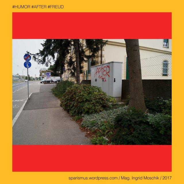 """Mag. Ingrid Moschik - #HUMOR #AFTER #FREUD #ARTIST, Mag. Ingrid Moschik – Spurensicherung """"IM NAMEN DER REPUBLIK"""", Moschik, Mag. Ingrid Moschik (*1955 Villach), Mag. Ingrid Moschik (*1955 Villach) – österreichische Künstlerin, Mag. Ingrid Moschik (*1955 Villach) – Austrian Artist, Graz – V. Gries – Triester Straße (offiziell) = Triesterstrasse (allgemein), Graz – V. Gries – Triester Strasse (1813 bis heute) – """"Puntigamer Reichsstrasse"""" – """"Poststrasse nach Marburg"""", Graz – V. Gries – Triester Strasse – Topologie zwischen Karlauerplatz im Norden und Stadtgrenze im Süden, Europa = Europe, Österreich = Austria, Steiermark = Styria, George Orwell (1903-1950) - """"1984"""" = """"Nineteen Eighty-Four"""" (1949) = """"Neunzehnhundertvierundachtzig"""" (1950), George Orwell (1903 Motihari Bihar – 1950 London) – englischer Schriftsteller Essayist Journalist, George Orwell (1903 Motihari Bihar – 1950 London) – Verfasser des dystopischen Romans """"Animal Farm"""" (1945), George Orwell (1903 Motihari Bihar – 1950 London) – Verfasser des dystopischen Romans """"1984"""" (1949), George Orwell (1903-1950) - """"1984"""" – Big Brother = Grosser Bruder, George Orwell (1903-1950) - """"1984"""" – """"Big Brother is Watching You"""", Sigmund Freud = Sigismund Schlomo Freud, Sigmund Freud (1856 Freiberg Mähren – 1939 London) – österreichischer Neurologe Tiefenpsychologe Kulturtheoretiker Religionskritiker, Sigmund Freud (1856 Freiberg Mähren – 1939 London) – Begründer der Psychoanalyse, Sigmund Freud (1856 Freiberg Mähren – 1939 London) – """"Die Traumdeutung"""" (1899), Sigmund Freud (1856 Freiberg Mähren – 1939 London) – """"Zur Psychopathologie des Alltagslebens"""" (1904), Sigmund Freud (1856 Freiberg Mähren – 1939 London) – """"Der Witz und seine Beziehung zum Unbewußten"""" (1905), Sigmund Freud (1856 Freiberg Mähren – 1939 London) – """"Drei Abhandlungen zur Sexualtheorie"""" (1905), After – (deutsch) der After """"Darmausgang Ausgang Anus Arschloch Poloch Loch Poperze Rosette Oasch"""" (14. Jh.), After – mhd. after aftro - ahd. aftero """"Hintere Hinterer """