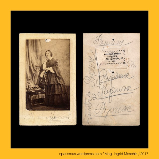 """COQUET – PHOTOGRAPHIE A PARIS – Rue Ste Appoline 20 (1853-1860), Coquet – Photographie a Paris - boulevard Saint-Denis (Mon du Nègre) 19 (1862), Coquet = Coq – Etymologie lat. coquus cocus """"männliches Haushuhn"""", rue Sainte-Apolline (2017) = rue Sainte-Appoline (1858) – 2e et 3e arrondissements de Paris en France, The Austrian Federal Chancellery, Bundeskanzleramt Österreich, BKA, Ballhausplatz 2, Sparismus, Sparen ist muss, Sparism, sparing is must Art goes politics, Zensurismus, Zensur muss sein, Censorship is must, Mag. Ingrid Moschik, Mündelkünstlerin, Staatsmündelkünstlerin, Mag. Ingrid Moschik – Kulturerbe-Künstlerin, Mag. Ingrid Moschik – Spurensicherung """"IM NAMEN DER REPUBLIK"""", Mag. Ingrid Moschik - #HUMOR #AFTER #FREUD ARTIST"""