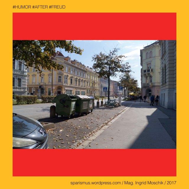 """Mag. Ingrid Moschik - #HUMOR #AFTER #FREUD #ARTIST, Mag. Ingrid Moschik – Spurensicherung """"IM NAMEN DER REPUBLIK"""", Moschik, Mag. Ingrid Moschik (*1955 Villach), Mag. Ingrid Moschik (*1955 Villach) – österreichische Künstlerin, Mag. Ingrid Moschik (*1955 Villach) – Austrian Artist, Graz – VI. Jakomini - Conrad-von-Hötzendorf-Straße 14-18 (1904 bis heute), Graz – VI. Jakomini - Conrad-von-Hötzendorf-Straße 14-18 – Finanzlandesdirektion – Finanzamt Graz (2017), Graz - Conrad-von-Hötzendorf-Strasse = äussere Jakominigasse (bis 1935), Graz - Conrad-von-Hötzendorf-Strasse (1935 bis heute), Franz Conrad Graf von Hötzendorf (1852 Penzing Wien – 1925 Mergentheim Württemberg) – österreichischer Feldmarschall, Europa = Europe, Österreich = Austria, Steiermark = Styria, George Orwell (1903-1950) - """"1984"""" = """"Nineteen Eighty-Four"""" (1949) = """"Neunzehnhundertvierundachtzig"""" (1950), George Orwell (1903 Motihari Bihar – 1950 London) – englischer Schriftsteller Essayist Journalist, George Orwell (1903 Motihari Bihar – 1950 London) – Verfasser des dystopischen Romans """"Animal Farm"""" (1945), George Orwell (1903 Motihari Bihar – 1950 London) – Verfasser des dystopischen Romans """"1984"""" (1949), George Orwell (1903-1950) - """"1984"""" – Big Brother = Grosser Bruder, George Orwell (1903-1950) - """"1984"""" – """"Big Brother is Watching You"""", Sigmund Freud = Sigismund Schlomo Freud, Sigmund Freud (1856 Freiberg Mähren – 1939 London) – österreichischer Neurologe Tiefenpsychologe Kulturtheoretiker Religionskritiker, Sigmund Freud (1856 Freiberg Mähren – 1939 London) – Begründer der Psychoanalyse, Sigmund Freud (1856 Freiberg Mähren – 1939 London) – """"Die Traumdeutung"""" (1899), Sigmund Freud (1856 Freiberg Mähren – 1939 London) – """"Zur Psychopathologie des Alltagslebens"""" (1904), Sigmund Freud (1856 Freiberg Mähren – 1939 London) – """"Der Witz und seine Beziehung zum Unbewußten"""" (1905), Sigmund Freud (1856 Freiberg Mähren – 1939 London) – """"Drei Abhandlungen zur Sexualtheorie"""" (1905), After – (deutsch) der After """"Darma"""