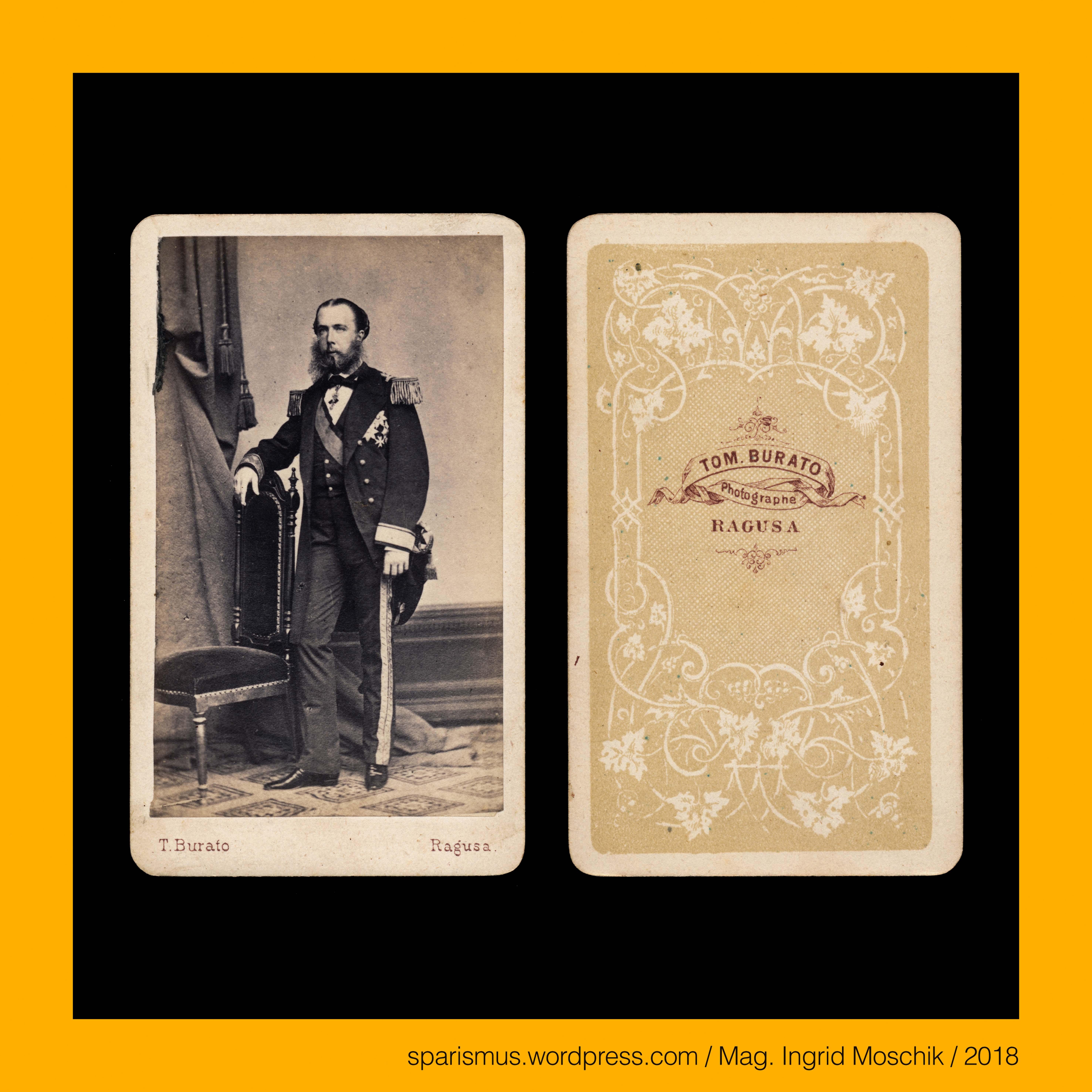 Ludwig Angerer in Wien 1863 – Erzherzog Maximilian von