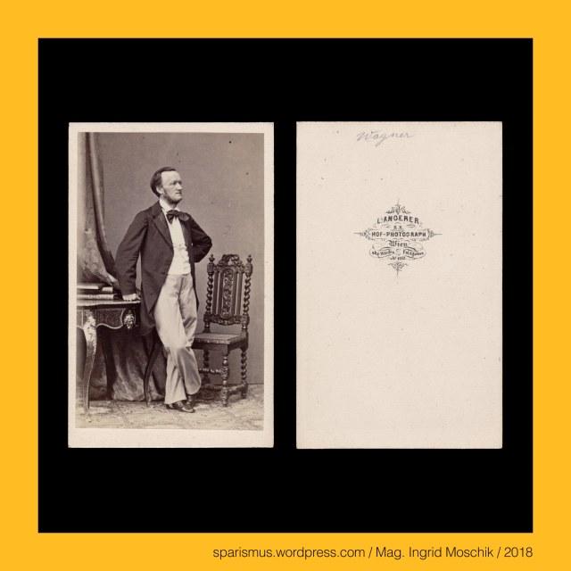 """L. Angerer, L. Angerer Wien, Ludwig Angerer Wien, Ludwig Angerer (1827-1879) – österreichischer Fotograf des 19. Jahrhunderts, Ludwig Angerer (1827 Malatzka – 1879 Wien) - k.u.k. Hof-Photograph, Ludwig Angerer (1827 Malacky Malaczka Malacka Malatzka bei Pressburg Bratislava Pozsony Presporok – 1879 Wien) - k.u.k. Hof-Photograph, Wilhelm Richard Wagner = Richard Wagner, Wilhelm Richard Wagner = Richard Wagner (1813-1879) – deutscher Musiker der Romantik, Richard Wagner (1813 Leipzig – 1883 Venedig) - deutscher Komponist – Dramatiker – Dichter – Schriftsteller – Theaterregisseur – Dirigent, The Austrian Federal Chancellery, Bundeskanzleramt Österreich, BKA, Ballhausplatz 2, Sparismus, Sparen ist muss,  Sparism, sparing is must Art goes politics, Zensurismus, Zensur muss sein, Censorship is must, Mag. Ingrid Moschik, Mündelkünstlerin, ward artist, Staatsmündelkünstlerin, political ward artist, Österreichische Staatsmündelkünstlerin, Austrian political ward artist, Mag. Ingrid Moschik – Spurensicherung """"IM NAMEN DER REPUBLIK"""", Mag. Ingrid Moschik - #HUMOR #AFTER #FREUD ARTIST"""