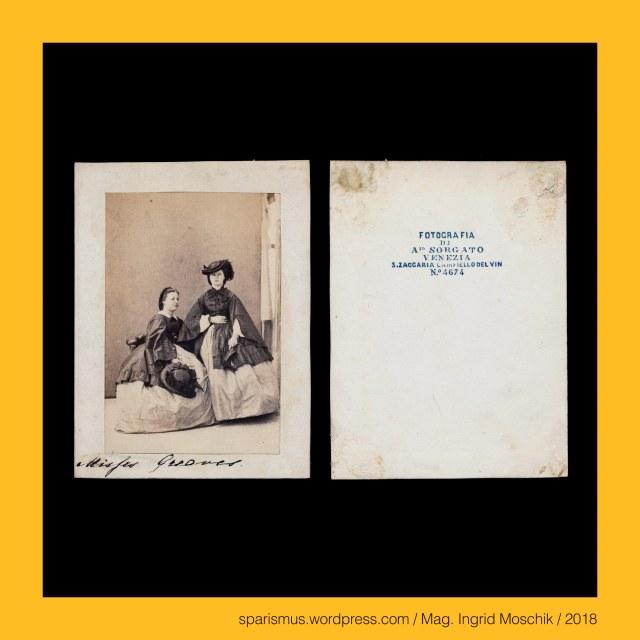 """Sorgato = Sorgat = Sorgatz = Sorger – """"Besorger Versorger Entsorger"""" - Etymologie 1 ahd. sorga – germ. *surgo – PIE *suergh- """"sich kümmern um"""", Antonio Sorgato – Venezia, Antonio Sorgato (1825 Padova – 1885 Venezia) – Maler und Fotograf in Padua et Venedig et Bologna et Modena et Udine (1847 bis 1887), Antonio Sorgato (1825 Padova – 1885 Venezia) – Maler und Fotograf in Padova (1847 bis circa ante 1856), Antonio Sorgato (1825 Padova – 1885 Venezia) – Maler und Fotograf in Venezia (circa post 1856 bis 1885), Antonio Sorgato (1825 Padova – 1885 Venezia) – Maler und Fotograf in Bologna et Modena (1870 bis 1885), Antonio Sorgato (1825 Padova – 1885 Venezia) – Maler und Fotograf in Udine (1877 bis 1885), Antonio Sorgato - """"FOTOGRAFIA DI A.io SORGATO VENEZIA - S. ZACCARIA CAMPIELLO DEL VIN – VENEZIA No. 4674"""", Venezia - Sestiere di Castello – Zaccaria, Venezia - Sestiere di Castello – Zaccaria - Campiello del Vin, Venezia - Sestiere di Castello – Zaccaria - Calle del Vin, Venezia - Sestiere di Castello – Zaccaria - San Zaccaria (829 bis heute) – dem Heiligen Zaccharias geweihte Kirche und ehemaliges Nonnenkloster, The Austrian Federal Chancellery, Bundeskanzleramt Österreich, BKA, Ballhausplatz 2, Sparismus, Sparen ist muss,  Sparism, sparing is must Art goes politics, Zensurismus, Zensur muss sein, Censorship is must, Mag. Ingrid Moschik, Mündelkünstlerin, ward artist, Staatsmündelkünstlerin, political ward artist, Österreichische Staatsmündelkünstlerin, Austrian political ward artist, Mag. Ingrid Moschik – Spurensicherung """"IM NAMEN DER REPUBLIK"""", Dr. Timm Starl (*1939 Wien - ) - österreichischer Kulturwissenschaftler Fotohistoriker Ausstellungskurator FOTOGESCHICHTE-Gründer"""