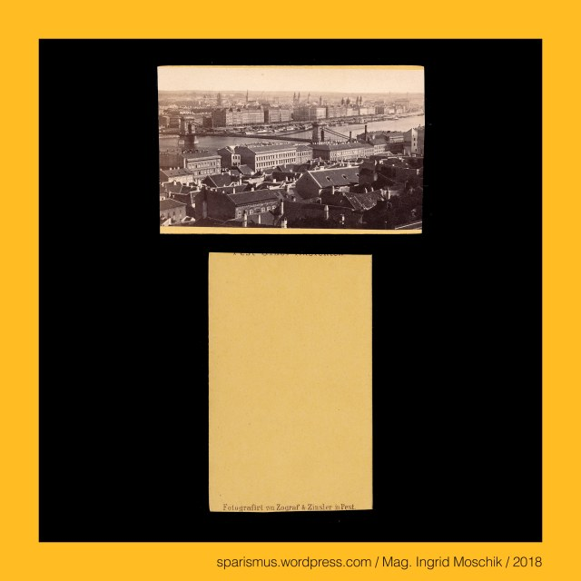 """Zograf und Zinsler - """"Fotografirt von Zograf & Zinsler in Pest"""", Zograf und Zinsler – Photographen in Budapest (1863-1872), Zograf und Zinsler - """"Pest-Ofner Ansichten"""" (1863-1872), Zograf und Zinsler – Photostudio in Pest (Budapest) von 1860er-70er, Zograf und Zinsler - """"ZOGRAF & ZINSLER – PEST – SPIEGELGASSE N.1."""" CALDERONI & Co. OPTIKER – PEST - MATZNERGASSE"""" (circa 1865), Istvan Calderoni (1794 – 1881) – Husarenoffizier und Optiker in Pesth bzw. Pest bzw. Budapest (1840er-60er), Zograf = Sograf = Zografi = Zografou = Zografos = Zographos – gr. zoe graphos """"(icon) painter"""", Zinsler = Zinser = anzinsiger Untertane – lat. census """"Steuer - Miete – Abgabe – Pacht – Schätzung"""" - lat. censere """"schätzen – sinnen"""" - PIE *sent- """"to feel"""" - sense sens Sinn sensus census, Budapest - Kettenbrücke (1839-1849 bis heute), Budapest - Chain Bridge, Budapest - Szechenyi lanchid (1839-1849 bis heute), Budapest - Szechenyi-Kettenbrücke, Grof Szechenyi Istvan = Stephan Graf Szechenyi (1791 Wien – 1860 Döbling Wien) – ungarischer Unternehmer Politiker Staatsreformer, Grof Szechenyi Istvan = Stephan Graf Szechenyi (1791 Wien – 1860 Döbling Wien) – Initiator der Kettenbrücke (Ferenc Herczeg - A Hid = Die Brücke), Szechenyi – Setscheny = Setscheni - """"die aus Szecheny"""" – Etymology 1 PIE *sek- """"to cut schneiden sägen hauen fällen"""" – Setschen Sjetschen Szechen Sichel sicilis Sense secare, Budapest – Gellertberg = Gellert-hegy = Gellert Hill = Kelenberg = Kelen-hegy = Blocksberg = Mons Sancti Gerhardi = Sankt-Gerhardsberg = Gürz liyas Bayiri = Mons Pestiensis = Pesti-hegy, Budapest – I. & XI. Bezirk - Gellertberg = Gellert-hegy = Gellert Hill – 235 m hoher Felsen mit der Zitadelle am rechten Donau-Ufer, Szent Gellert = Gerhard von Csanad = Giorgio di Sagredo = Gerhard Segredo (circa 980 Venedig – 1046 Buda) – erster Bischof von Szeged-Csanad, Geller – Geler – Galler – Galer – Etymology 2 """"one who yells"""" – PIE *ghel- """"to yell shout gellen chant call cry holler"""", Geller – Geler - Gelber – Gelve"""