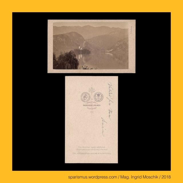 """Prof. J. Reiner, Prof. J. Reiner - Maler und Fotograf in Klagenfurt etwa 1862 bis etwa 1876, Prof. Johann Reiner, Prof. Johann Reiner (1825 Wien – 1897 Klagenfurt) - Fotograf in Klagenfurt etwa 1862 bis etwa 1876 (Verlag Alois Beer), Prof. Johann Baptist Reiner (1825 Wien – 1897 Klagenfurt) – Fotograf Zeichenlehrer (1855-1894) Musiker Volksliedsammler in Klagenfurt, Slowenien – Oberkrain = Gorenjska - Bled = Veldes = Feldes – Blejsko jezero = Veldeser Insel = Veldes Island, Slowenien – Oberkrain = Gorenjska - Bled = Veldes = Feldes – Cervek Marijinega Vnebovzetja = Wallfahrtkirche Mariä Himmelfahrt = Marienkirche (1142 bis heute), Slowenien – Oberkrain = Gorenjska - Bled = Veldes = Feldes, Slowenien – Oberkrain = Gorenjska - Bled = Veldes = Feldes – circa 5200 Einwohner zählende Gemeinde am Bleder See, Slowenien – Oberkrain = Gorenjska – Bleder See = Veldeser See = Blejsko jezero – circa 1,45 km2 grosser See auf 475. M ü.A., Slowenien – Oberkrain = Gorenjska - Bled = Veldes = Feldes – Ueldes (1004) – Etymology 1 bledy """"pale discolored bleich blass"""" - Proto-Slavic *blědъ – PIE *bhloyd-(w)o- """"whitish blue sober"""", Kärnten – Villach = slowenisch Beljak = italienisch Villaco, Kärnten – Villach = Beljak = Villaco – circa 62000 Einwohner zählende Stadt am Einfluss der Gail in die Drau, Kärnten – Villach = Beljak = Villaco – """"ad ponten Uillach"""" (878) – Villiacum – Etymologie  lat. villa ad aqua """"Stadt am Wasser"""", Kärnten – Villach = Beljak = Villaco – Bilak (1789) – Bljak - keltoromanisch *Biliakom, Villach – Hans-Gasser-Platz – Hans-Gasser-Denkmal (circa 1870 bis heute), Villach – Hanns-Gasser-Brunnen (um 1870), Hanns Gasser = Hans Gasser (1817 Eisentratten bei Gmünd in Kärnten – 1868 Pest) – österreichischer Bildhauer und Maler, Wien – V. Wieden – Gassergasse (1875 bis heute) – Raingasse (1869-75), Wien – V. Wieden – Hans-Gasser-Hof – Genossenschaftskomplex am Margaretengürtel 18 bzw. Laurenzgasse 1 bzw. Gassergasse 19, Mag. Ingrid Moschik – Spurensicherung """"IM NAMEN DER """
